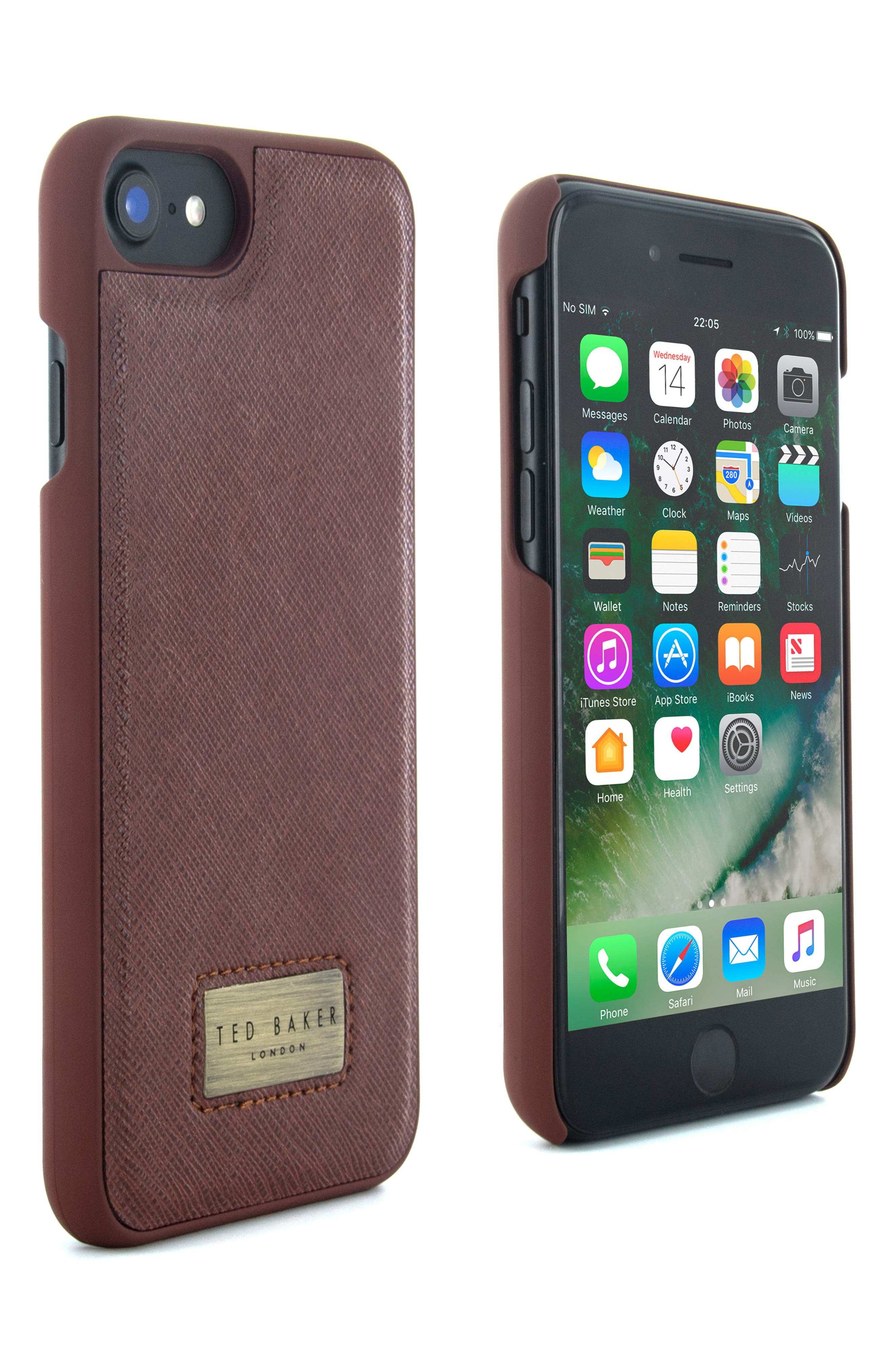 Haliday iPhone 6/6s/7/8 & 6/6s/7/8 Plus Case,                             Alternate thumbnail 3, color,                             240
