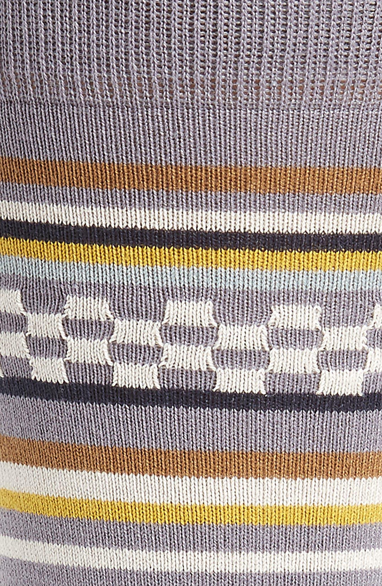 Jiggle Stripe Socks,                             Alternate thumbnail 3, color,