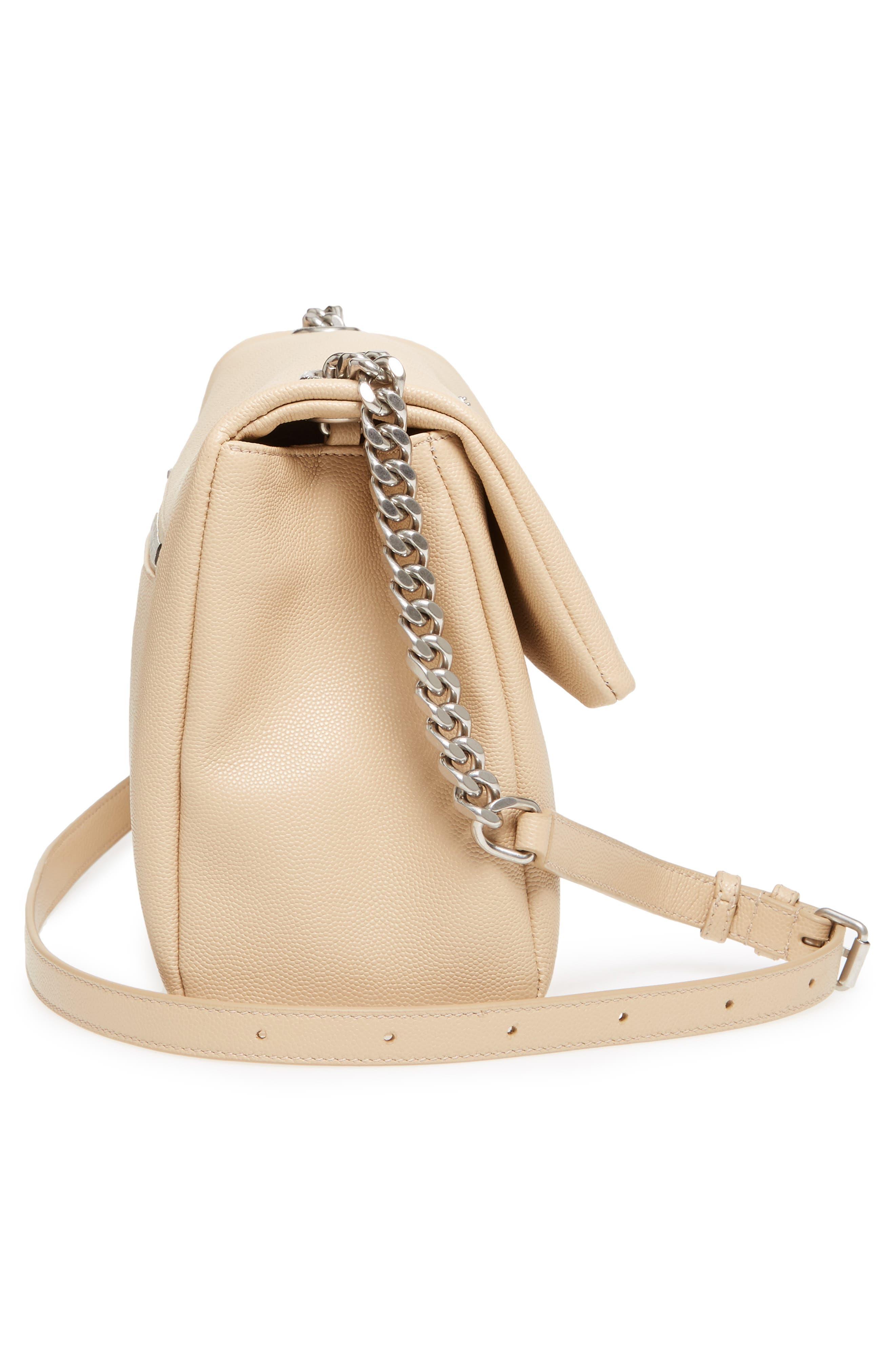 Medium West Hollywood Leather Shoulder Bag,                             Alternate thumbnail 15, color,