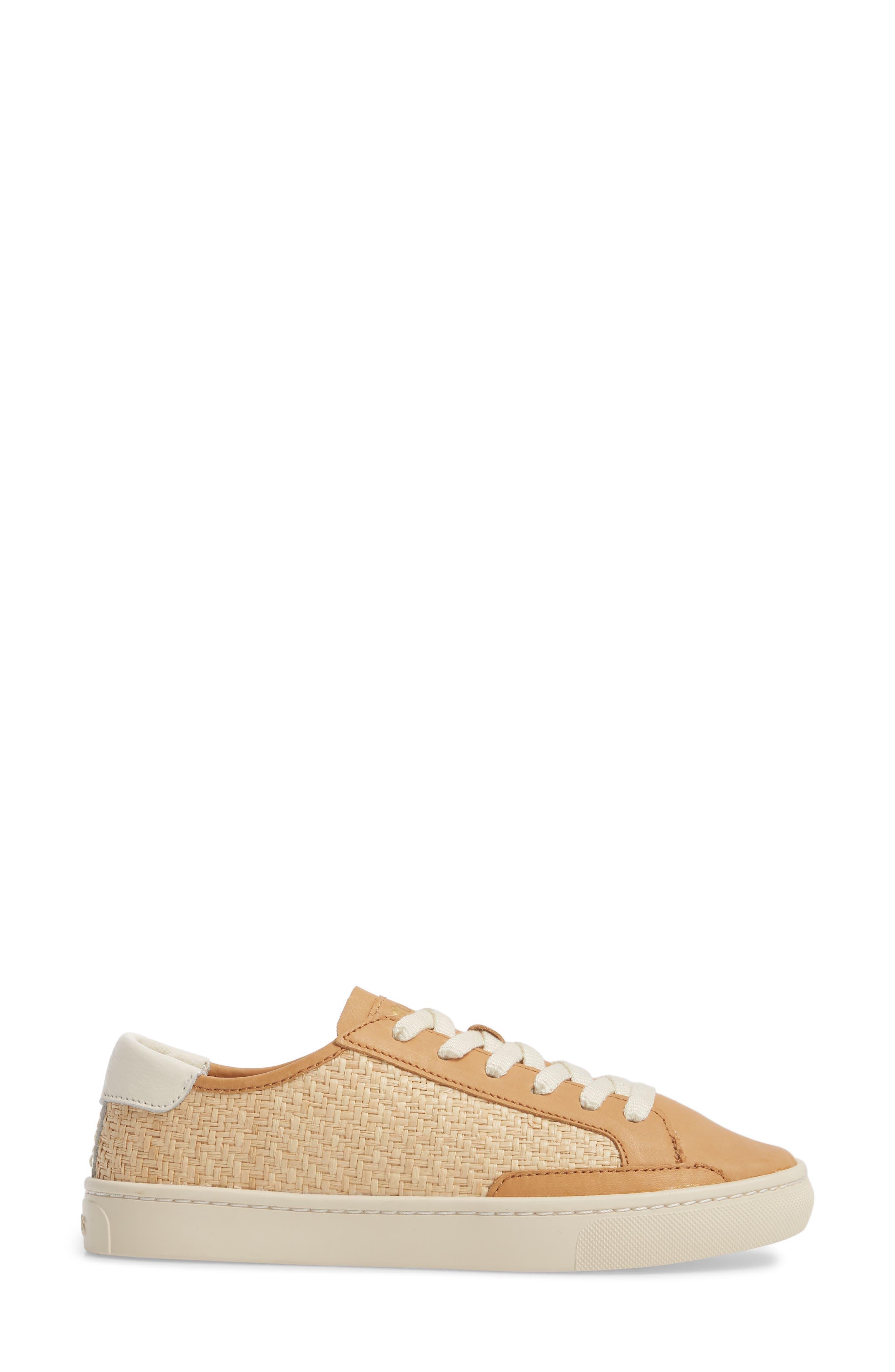 Ibiza Raffia Sneaker,                             Alternate thumbnail 3, color,                             250
