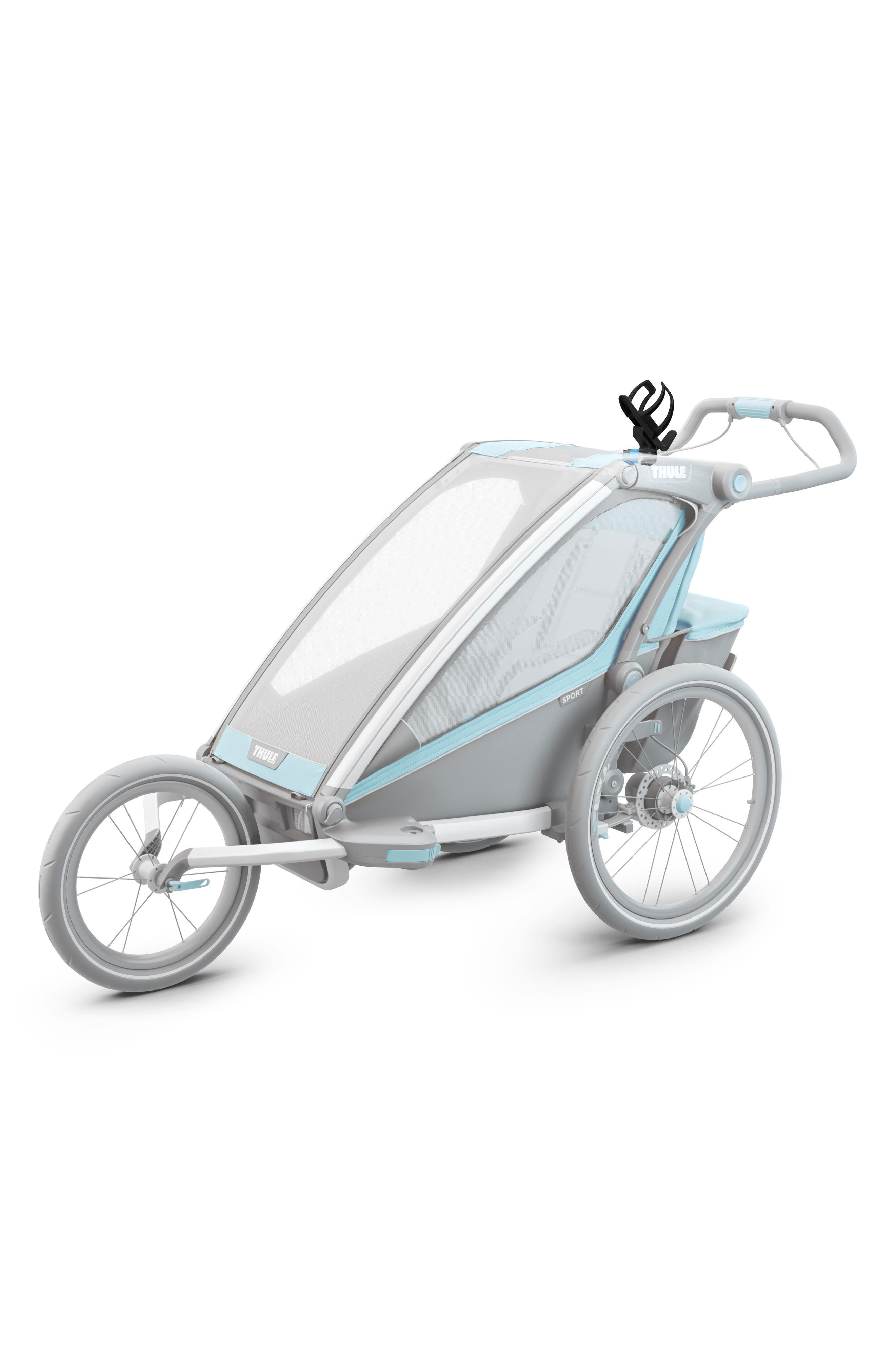 Hydration Cage for Thule Strollers,                             Alternate thumbnail 2, color,                             BLACK