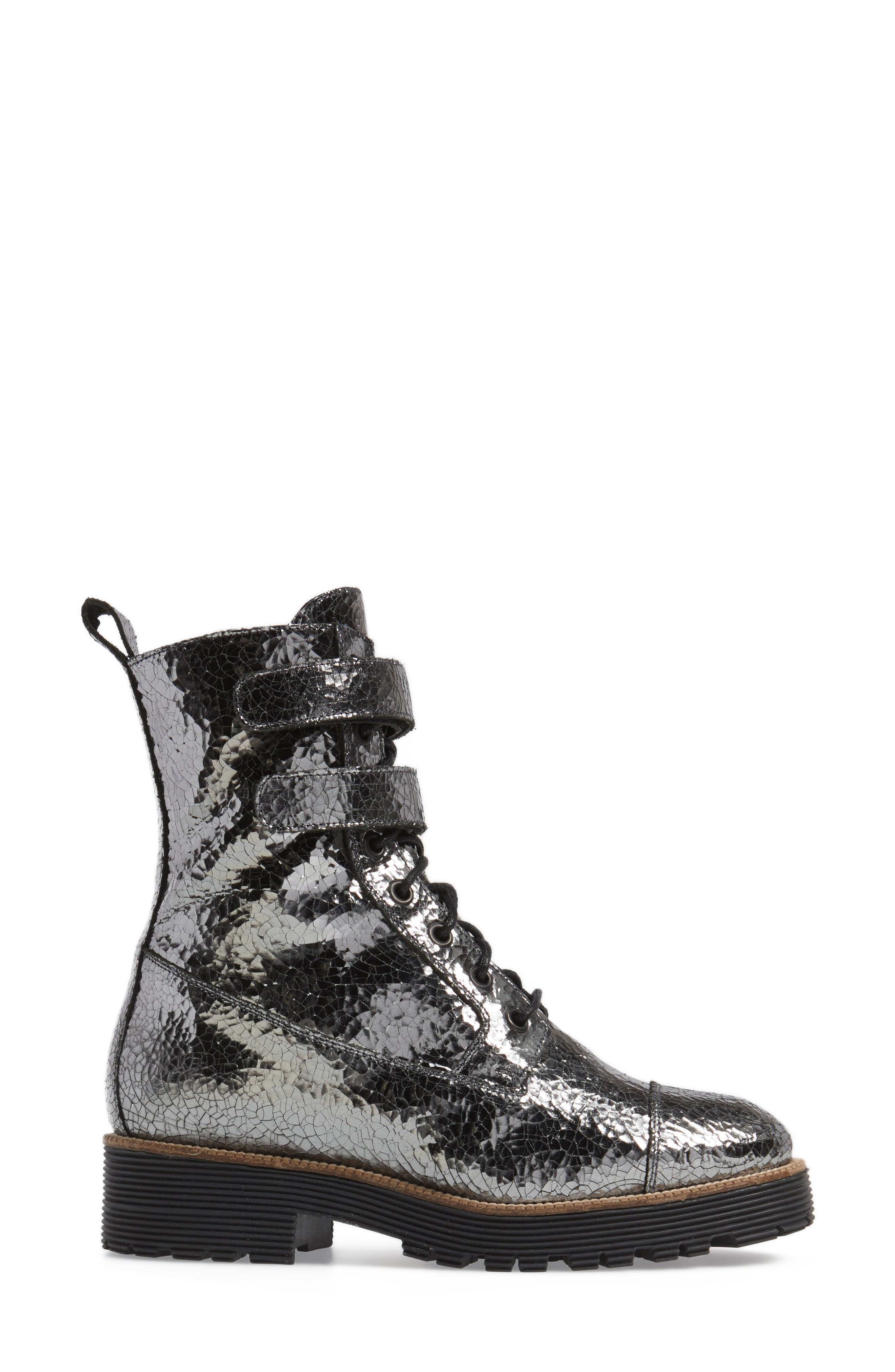 Tyra Combat Boot,                             Alternate thumbnail 6, color,