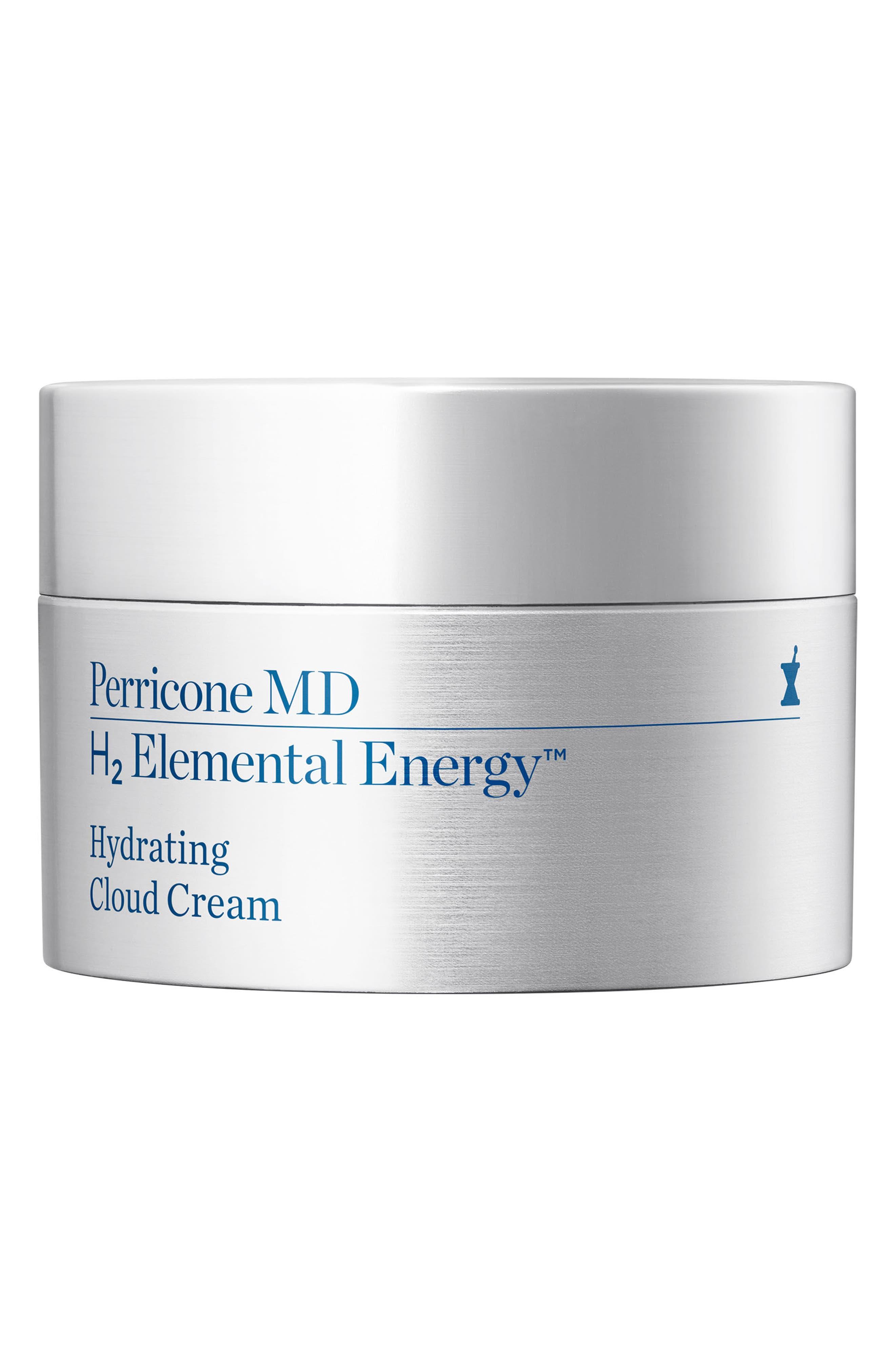 H2 Elemental Energy Hydrating Cloud Cream,                             Main thumbnail 1, color,                             000