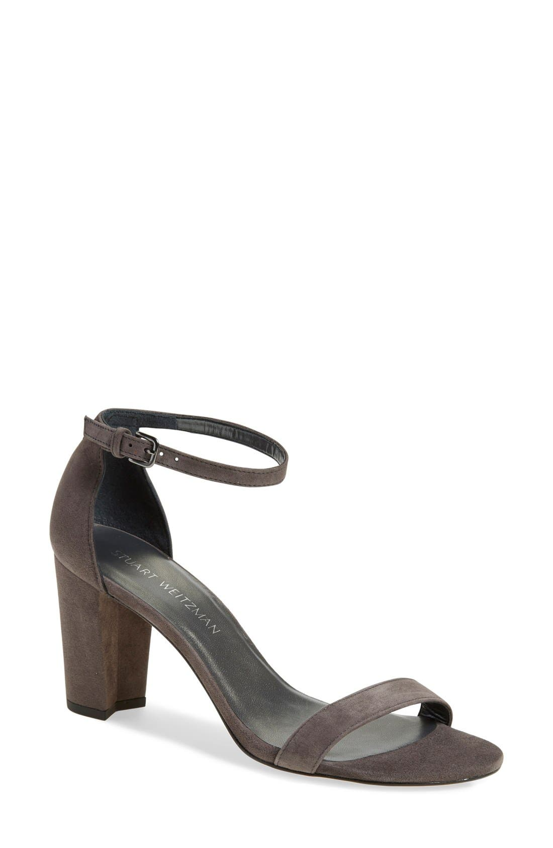 NearlyNude Ankle Strap Sandal,                             Main thumbnail 13, color,