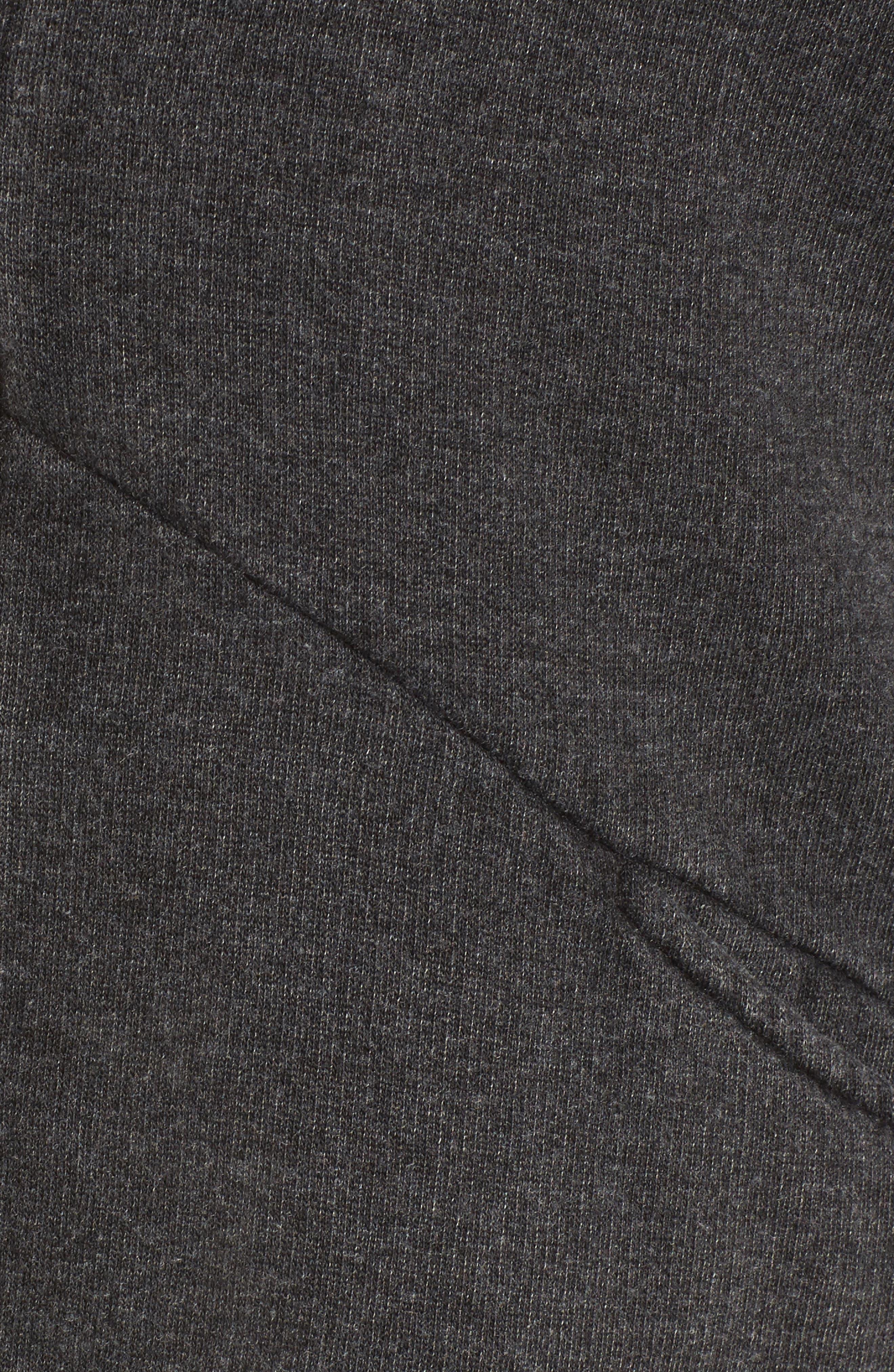 Lace-Up Back Cardigan,                             Alternate thumbnail 5, color,                             001