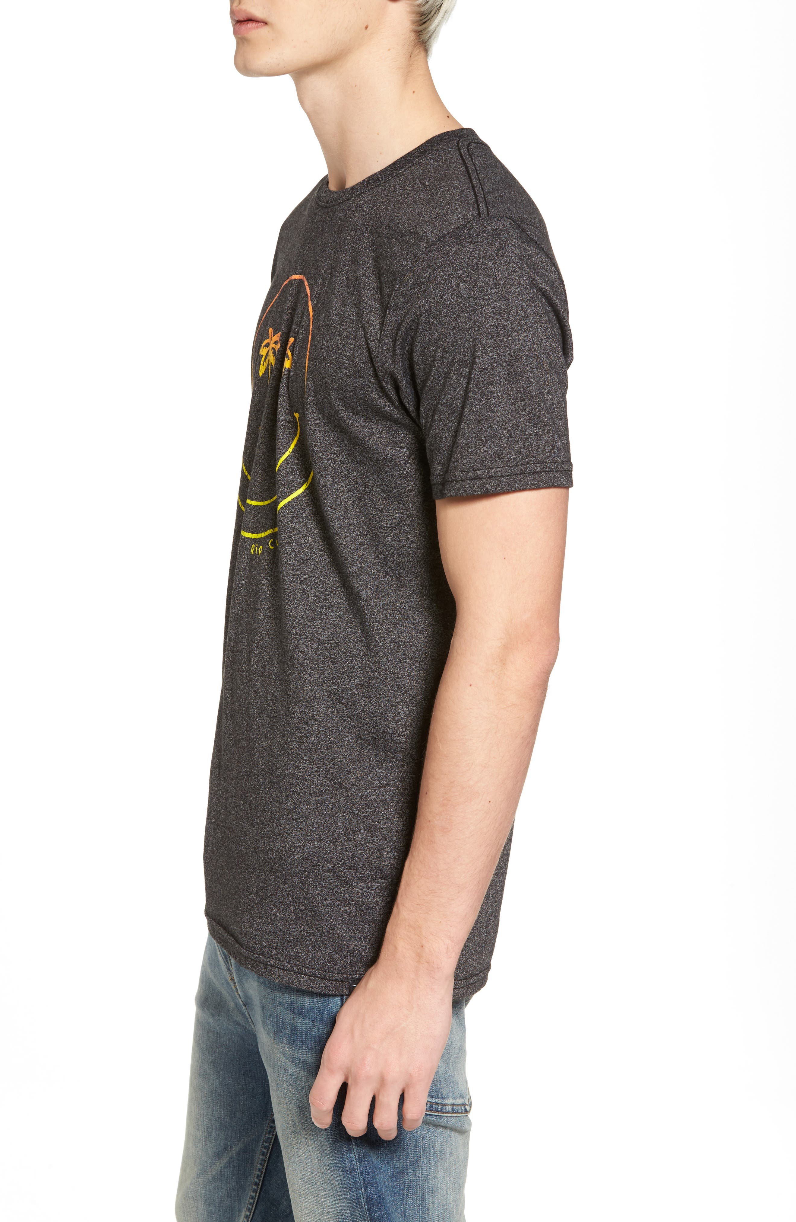 Palm Vision Mock Twist T-Shirt,                             Alternate thumbnail 3, color,