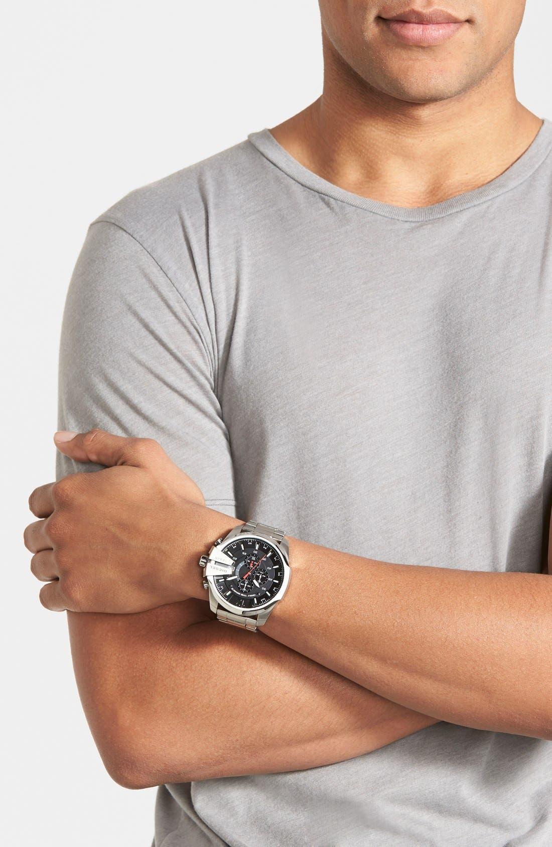 'Mega Chief' Bracelet Watch, 51mm,                             Alternate thumbnail 12, color,