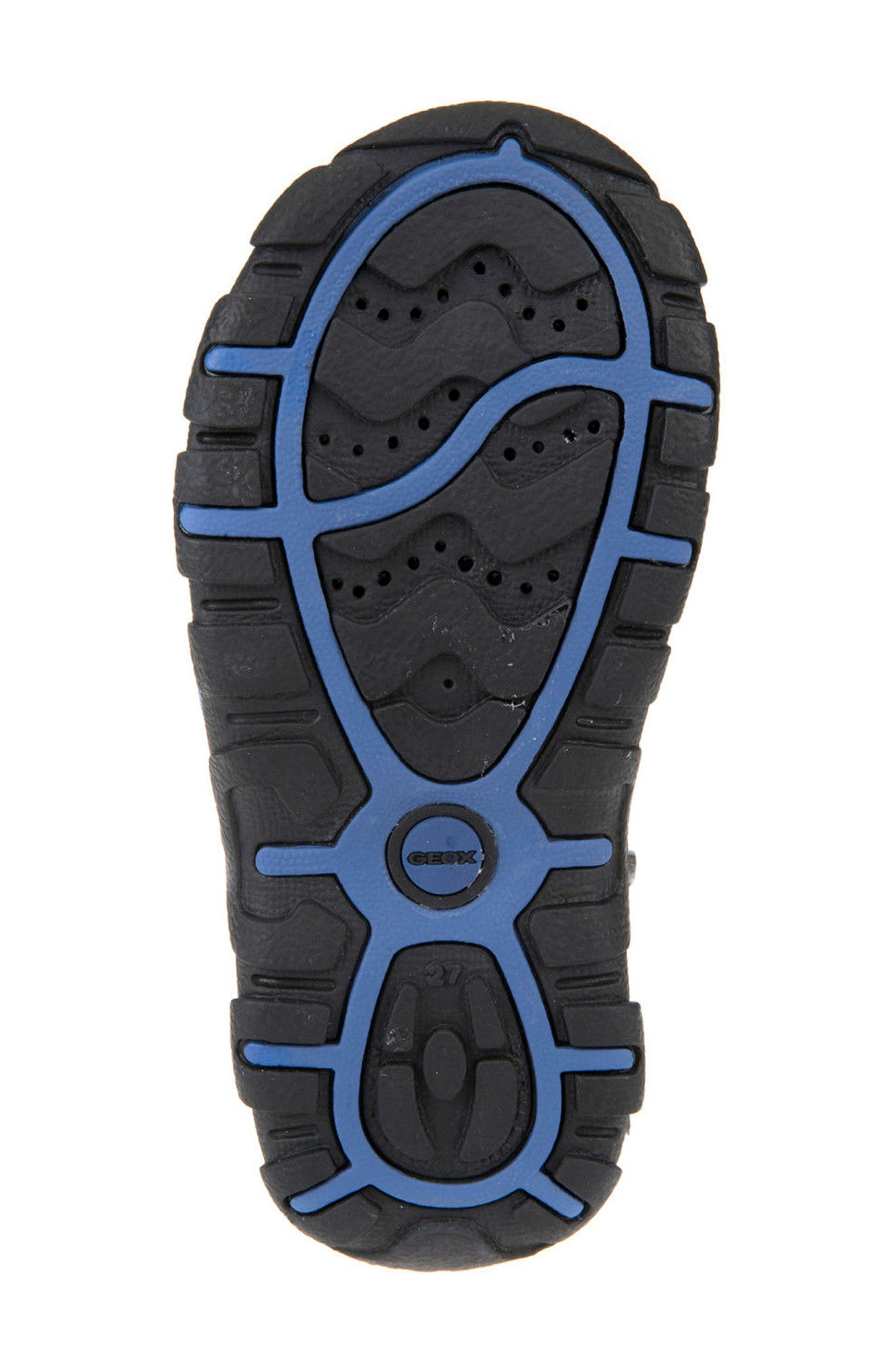 Strada Sandal,                             Alternate thumbnail 5, color,                             BLACK/ BLUE