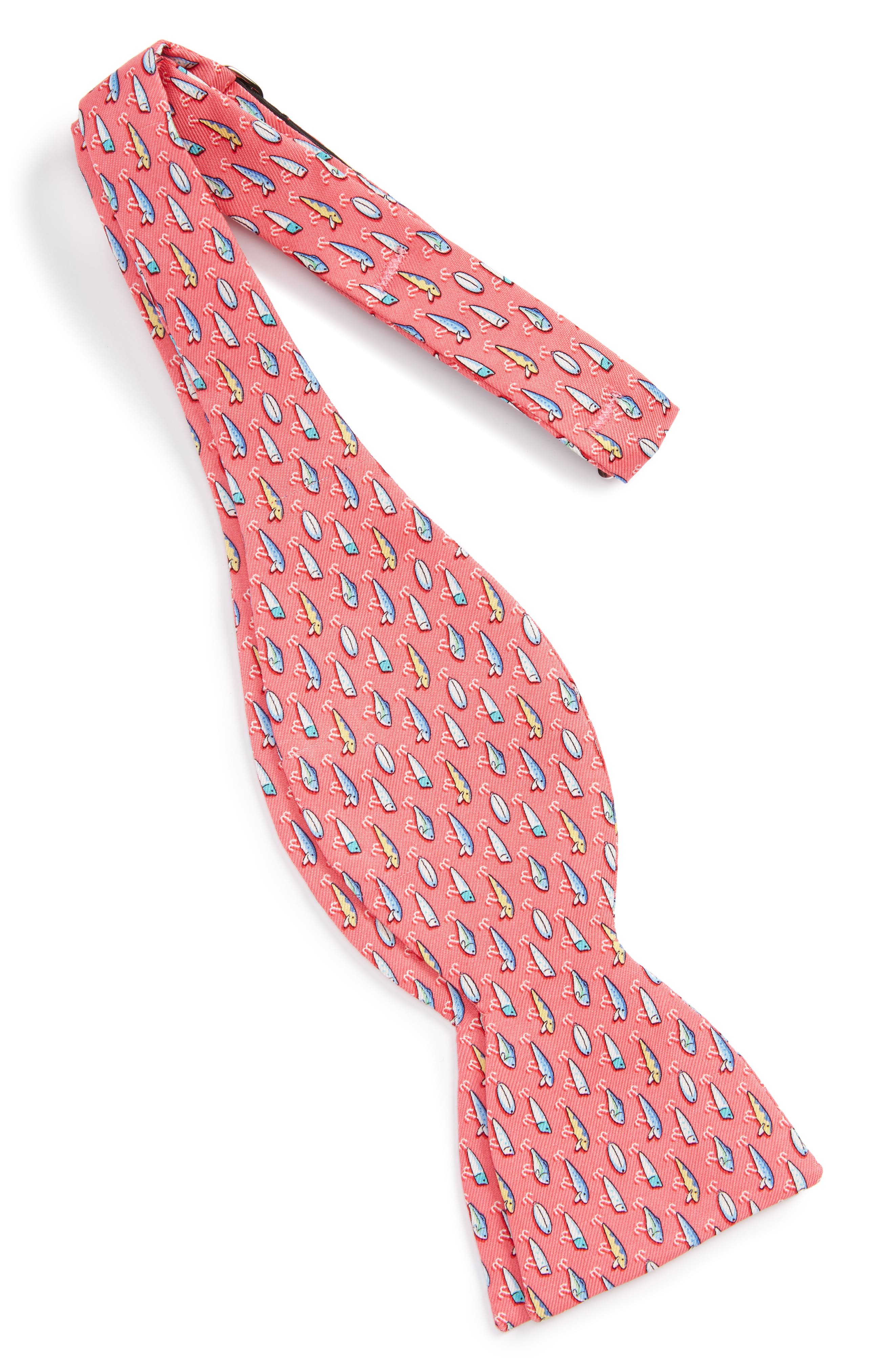 Lures Silk Bow Tie,                             Alternate thumbnail 2, color,                             669