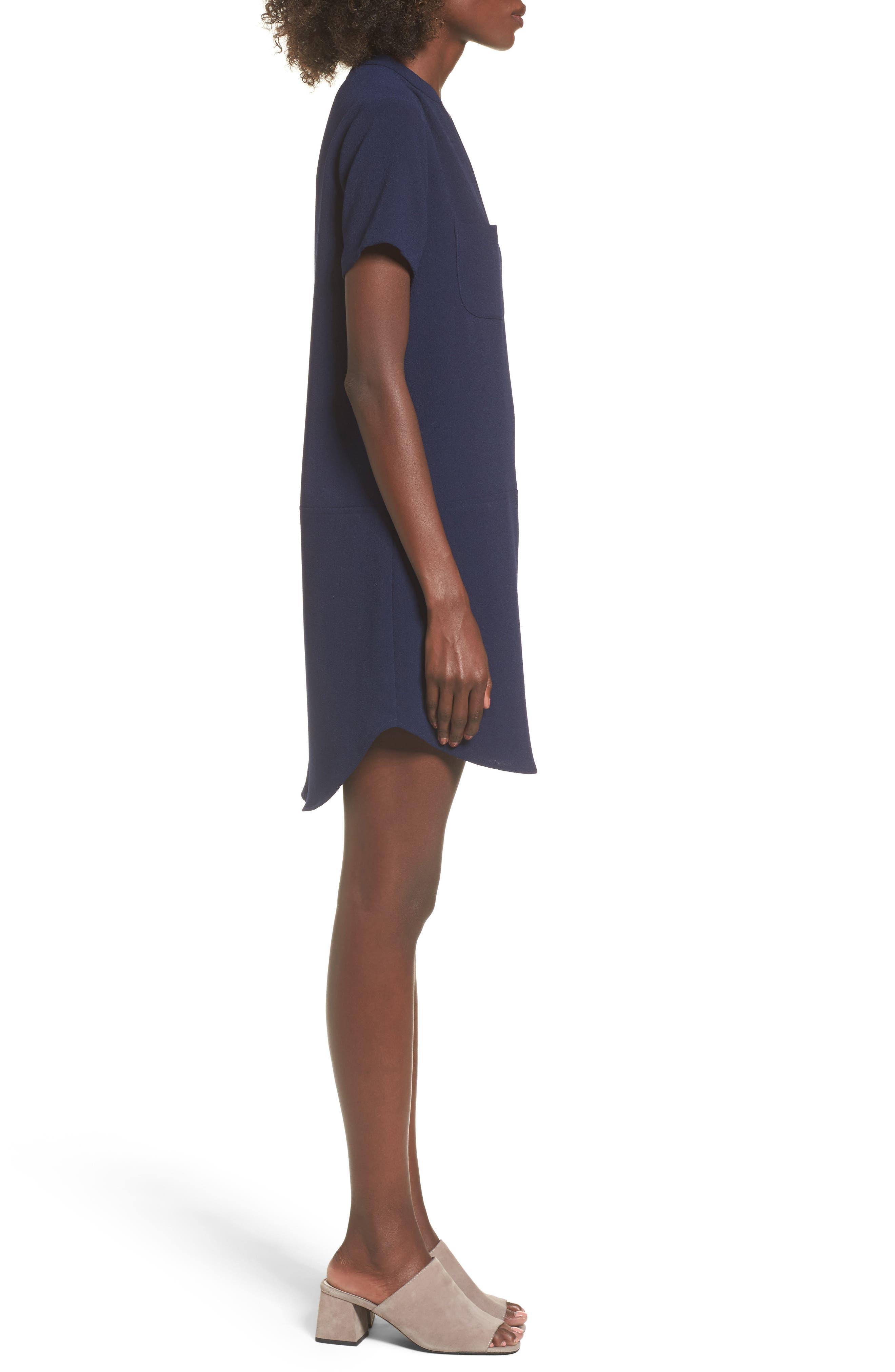 Hailey Crepe Dress,                             Alternate thumbnail 69, color,