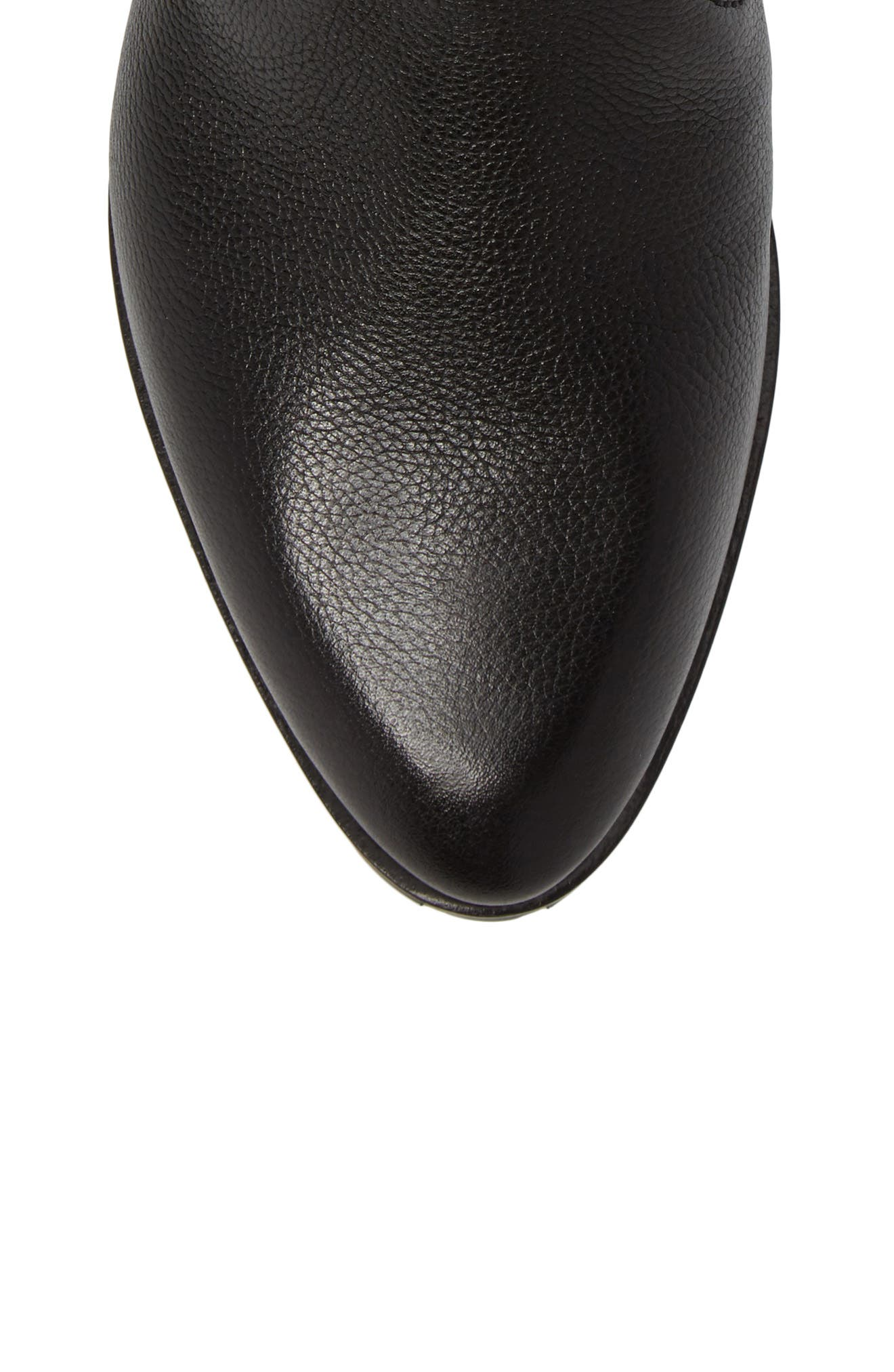 Andi Flat Bootie,                             Alternate thumbnail 5, color,                             001