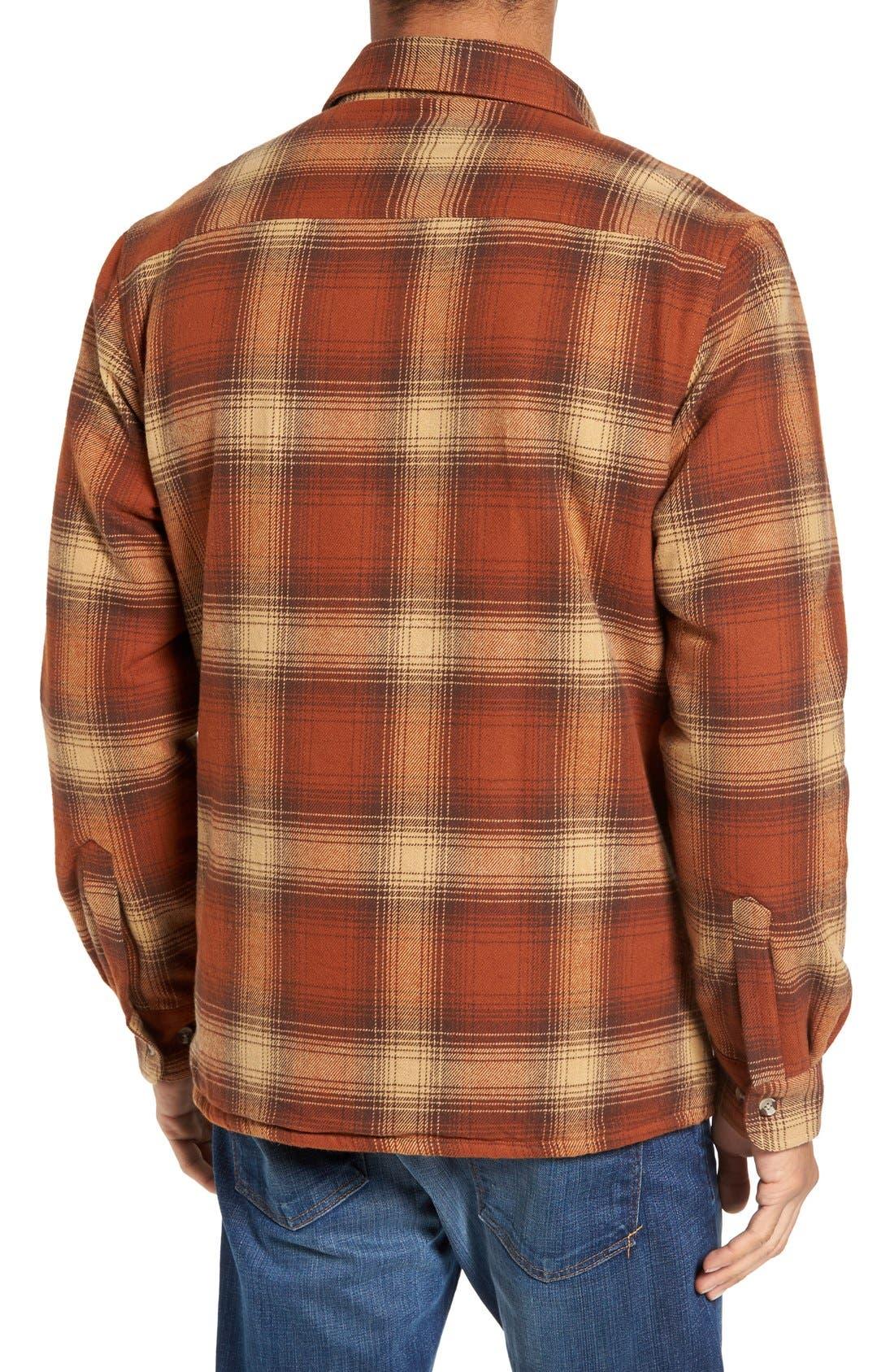 Plaid Shirt Jacket,                             Alternate thumbnail 6, color,                             200