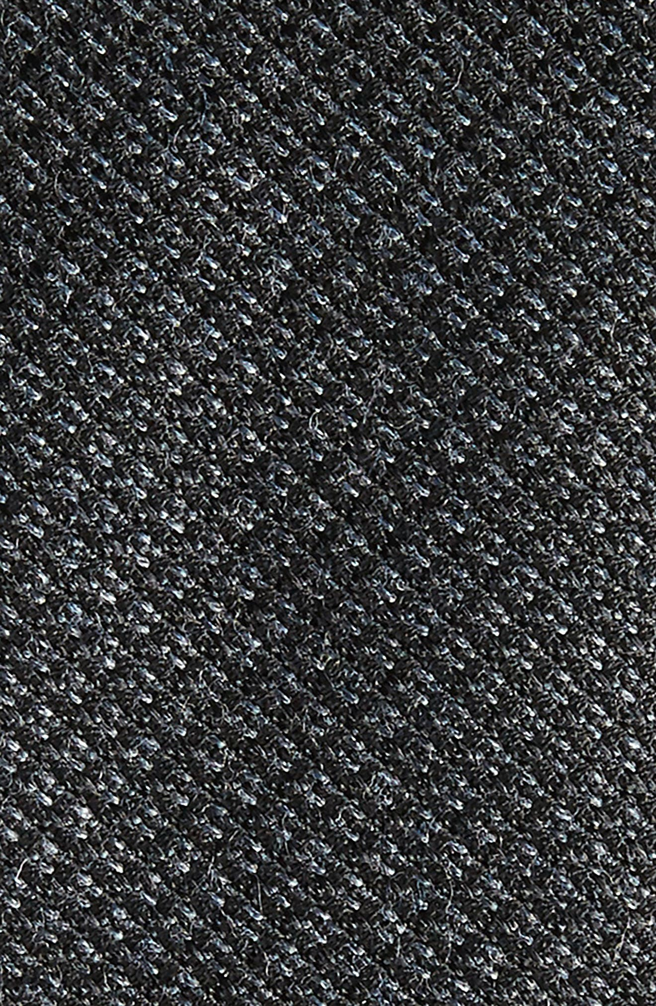 Kenton Textured Silk Blend Skinny Tie,                             Alternate thumbnail 6, color,