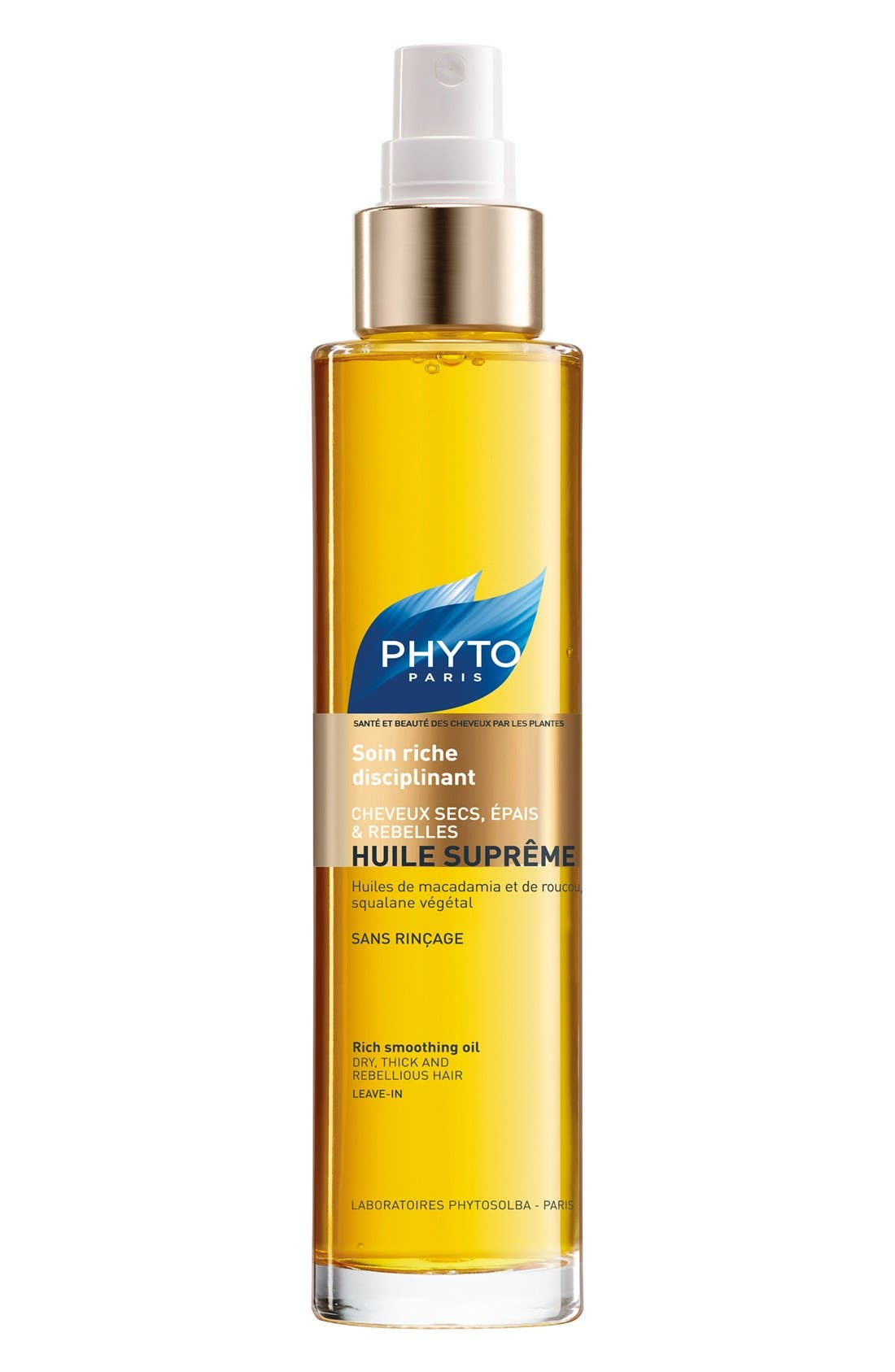 Huile Supreme Rich Smoothing Oil,                             Main thumbnail 1, color,                             SUPREME