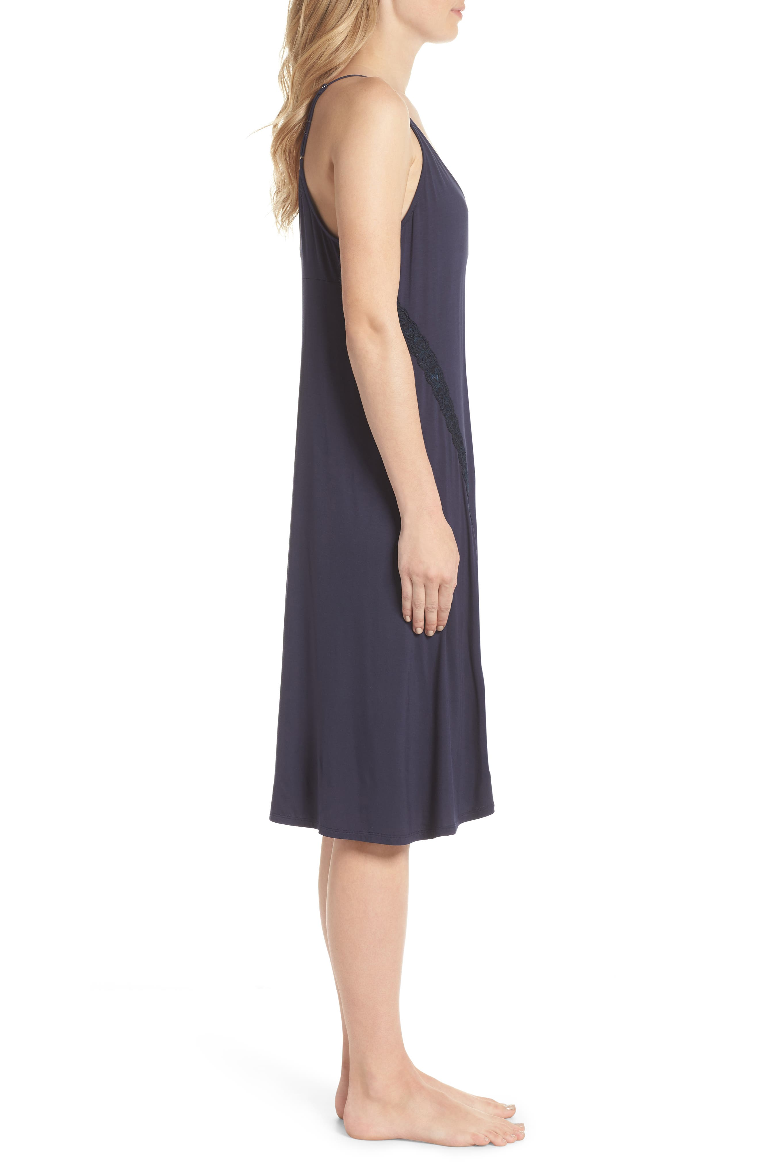 Feathers Essential Nightgown,                             Alternate thumbnail 3, color,                             403