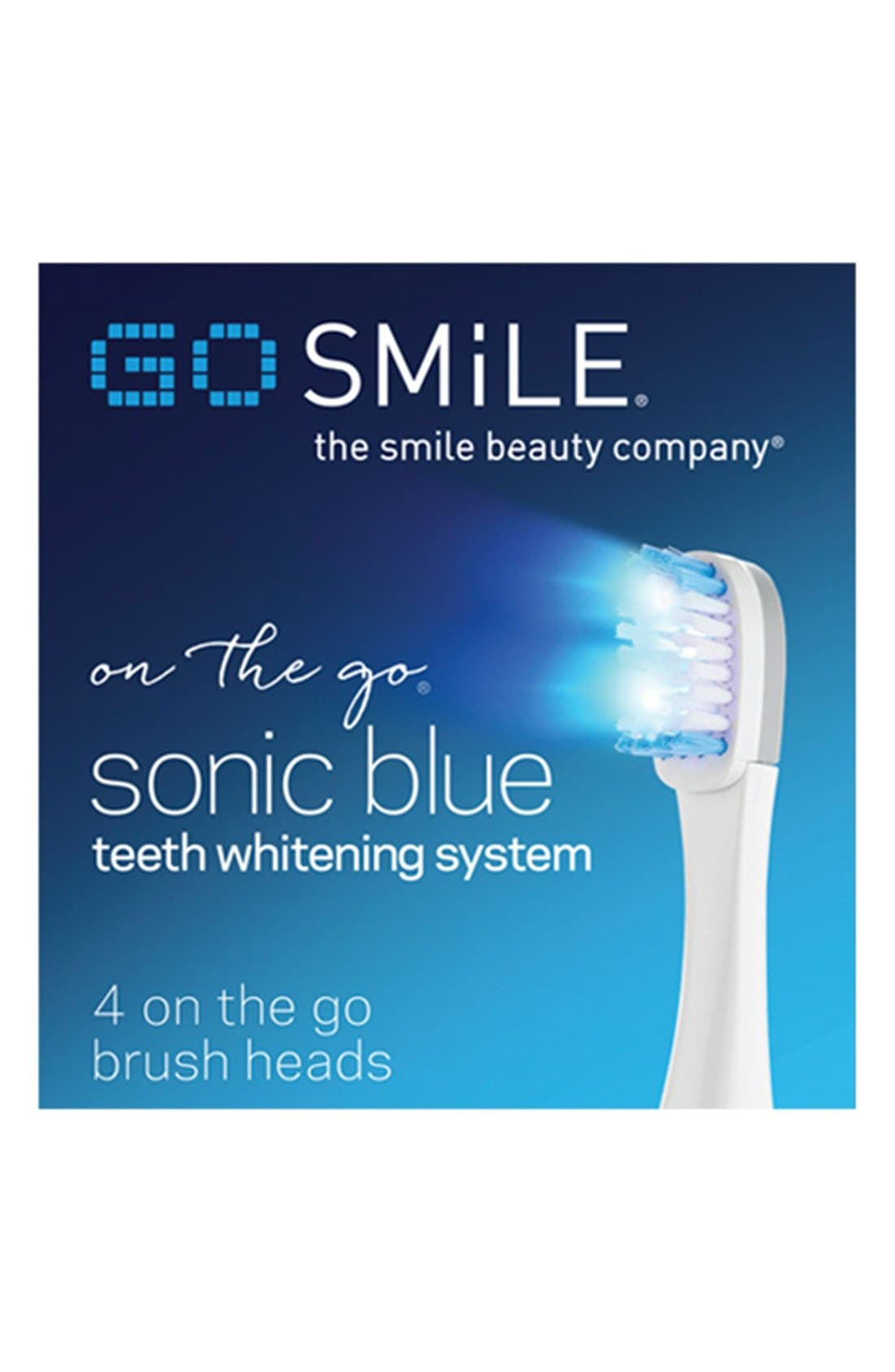 Dental Pro On the Go Sonic Blue Replacement Brush Heads,                             Alternate thumbnail 2, color,                             000