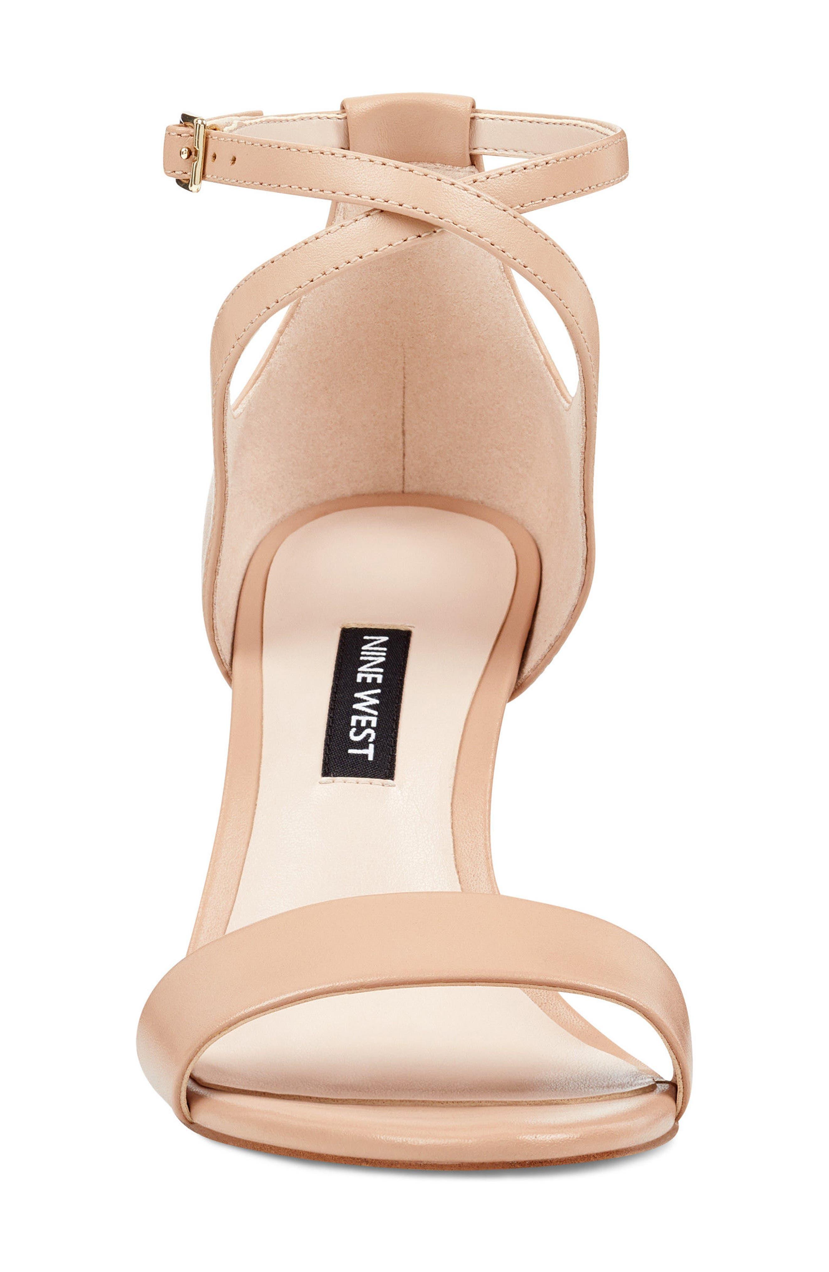 Nunzaya Ankle Strap Sandal,                             Alternate thumbnail 4, color,                             270