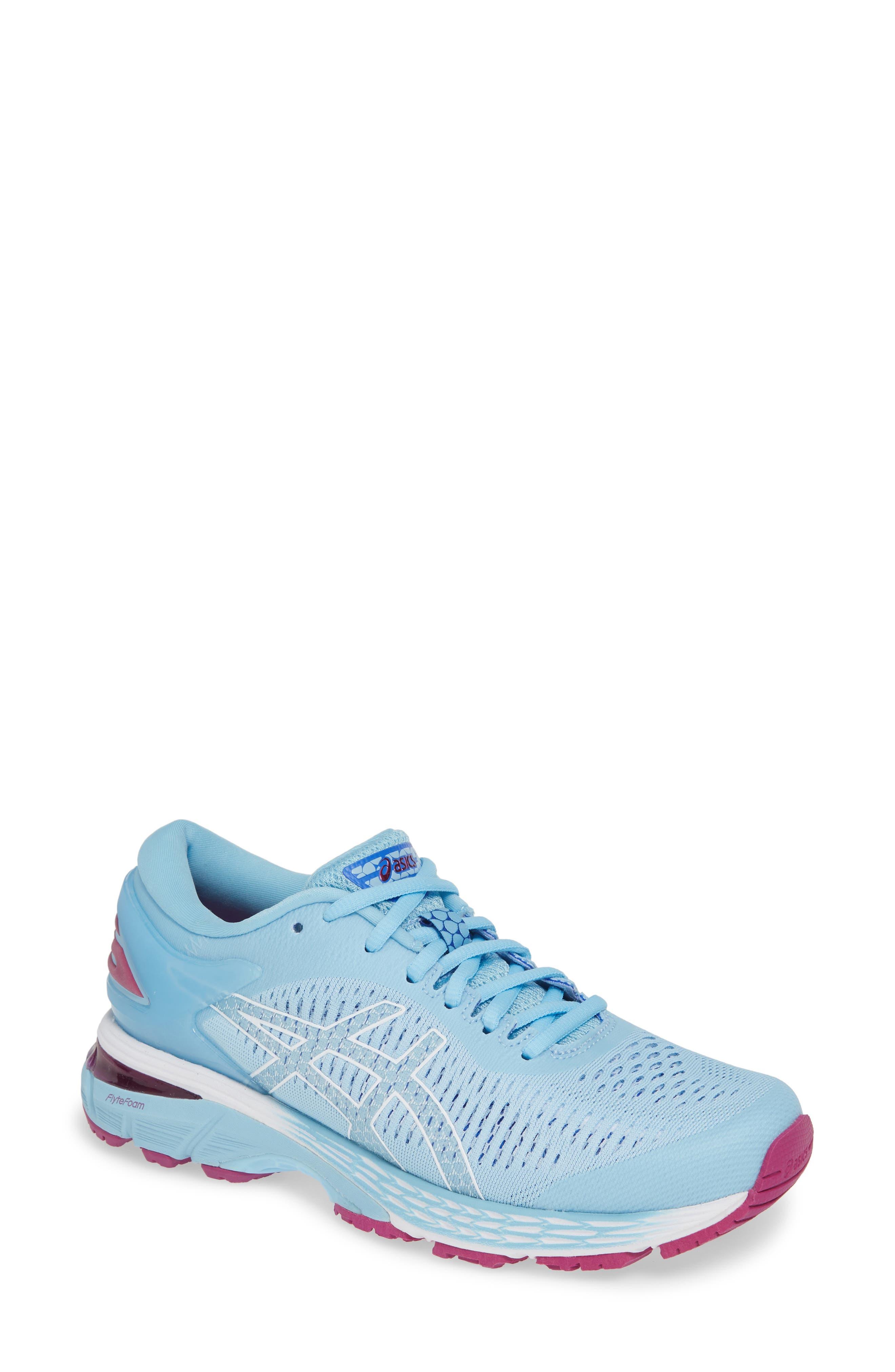 GEL-Kayano<sup>®</sup> 25 Running Shoe,                             Main thumbnail 1, color,                             SKYLIGHT/ ILLUSION BLUE