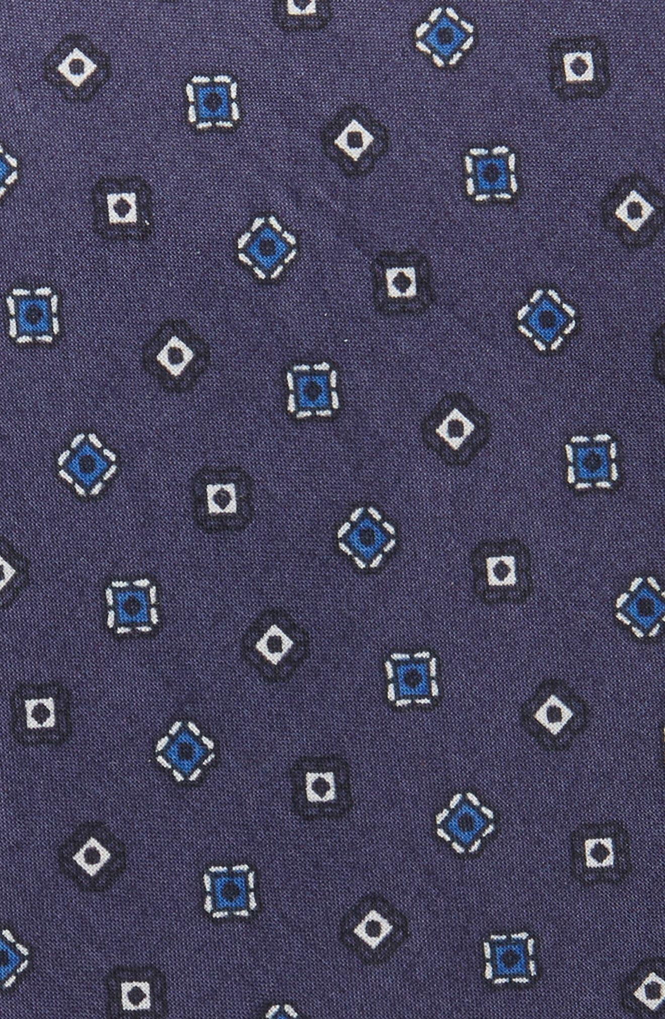 Medallion Cotton Tie,                             Alternate thumbnail 4, color,
