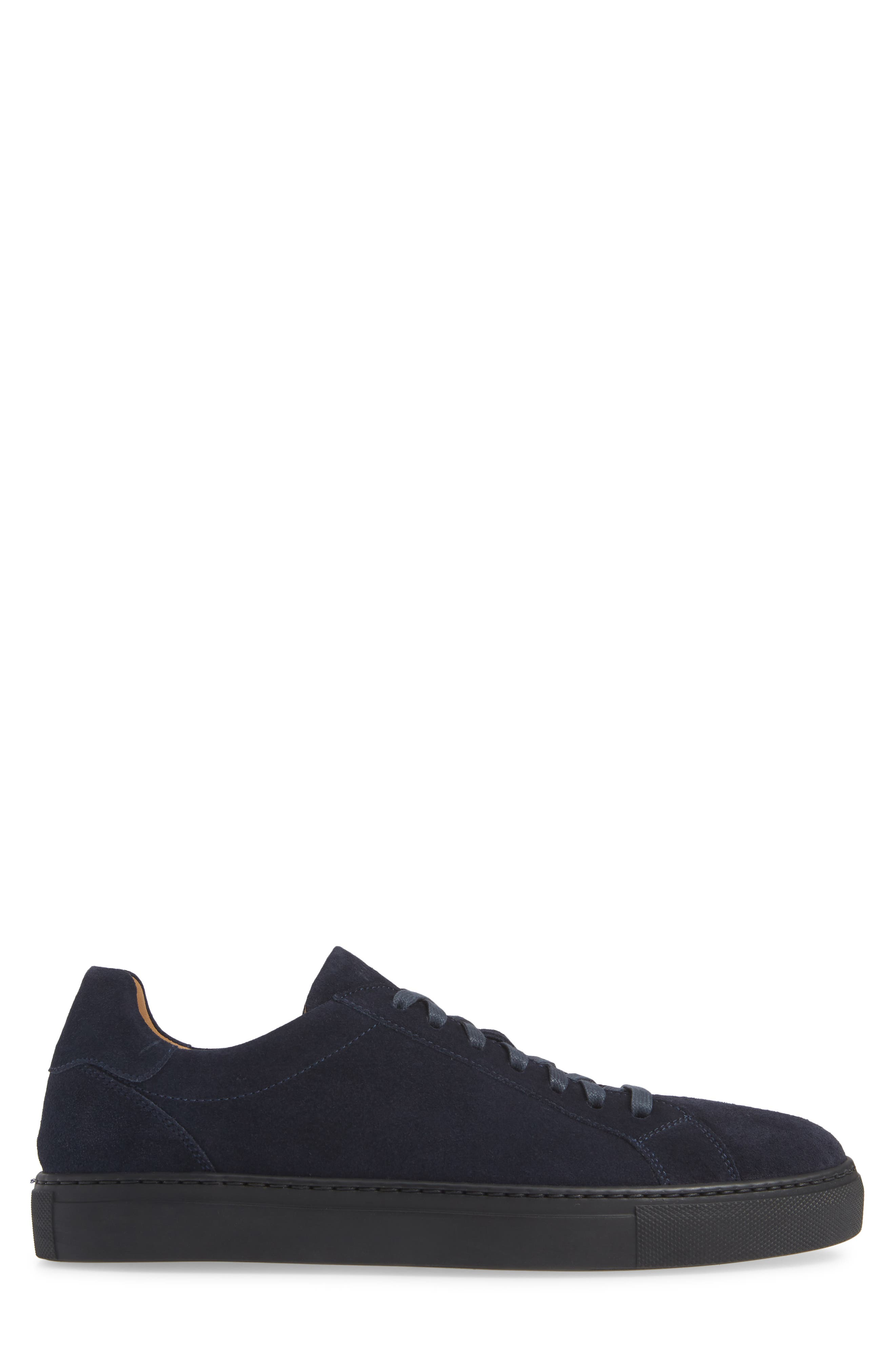 Fede Sneaker,                             Alternate thumbnail 3, color,                             NAVY SUEDE/ LEATHER