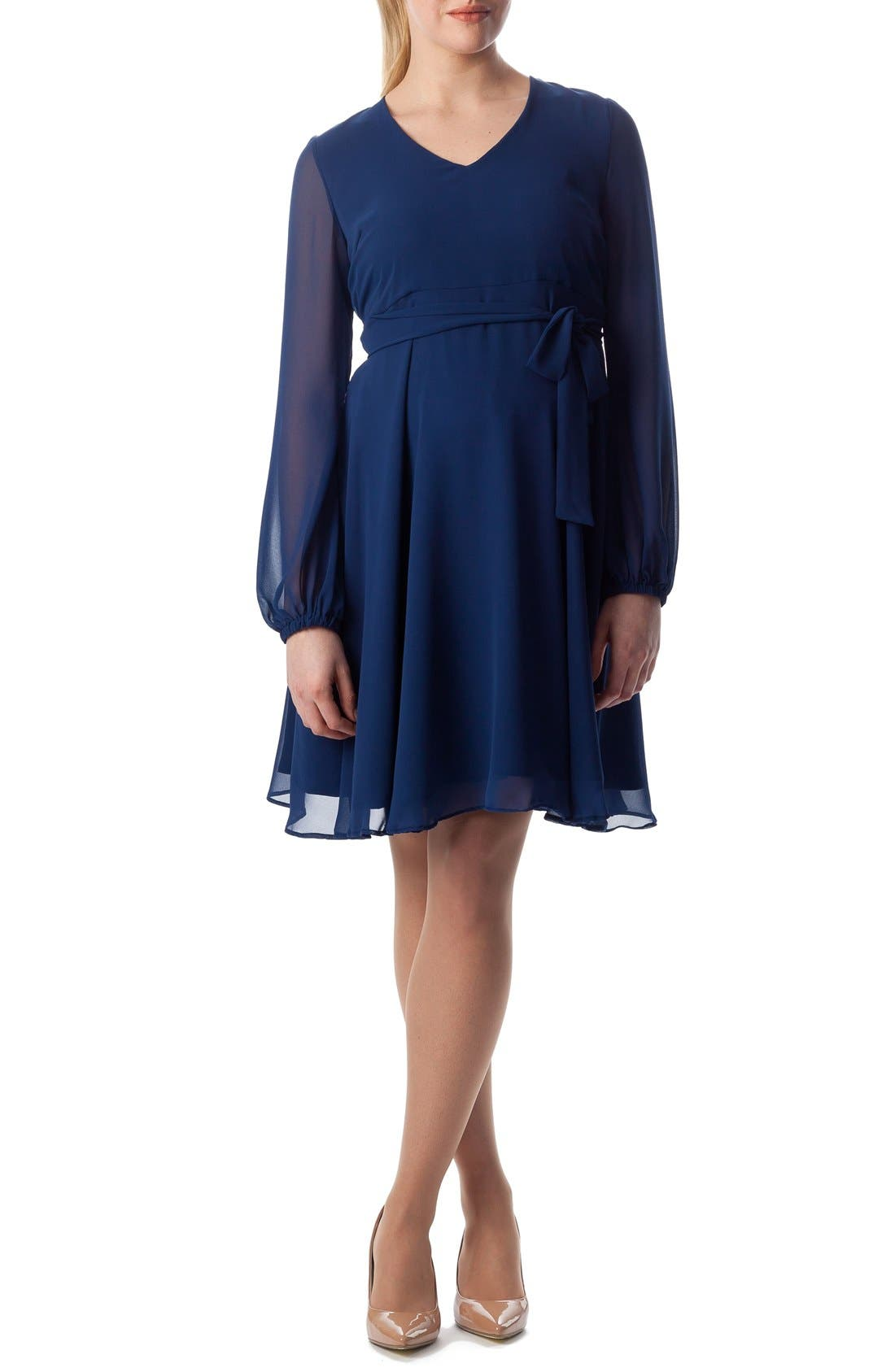 'Bellagio' Maternity Dress,                             Main thumbnail 2, color,