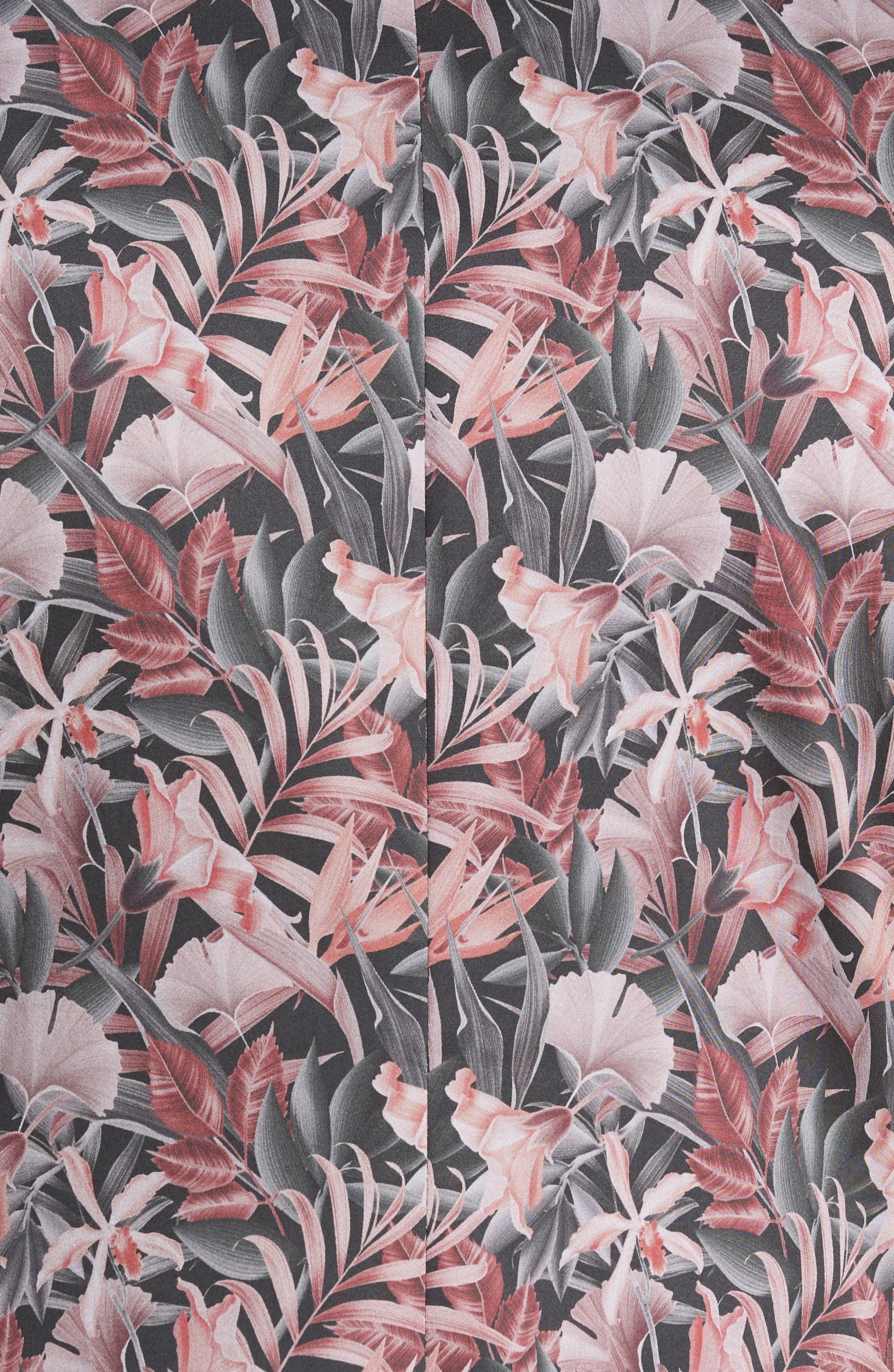 Ultra Skinny Fit Hibiscus Print Suit Jacket,                             Alternate thumbnail 6, color,                             650