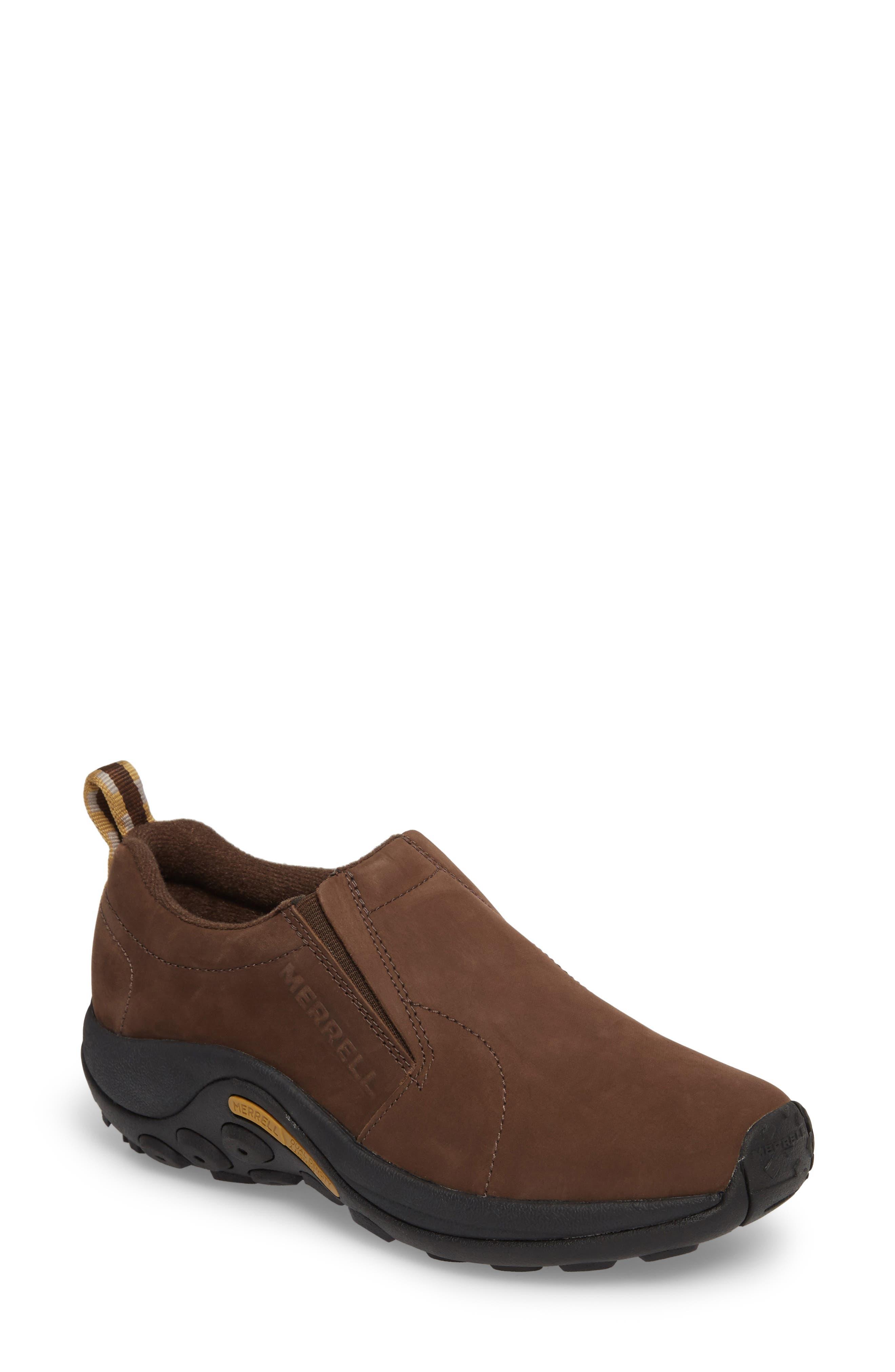 Jungle Moc Nubuck Sneaker,                         Main,                         color, BRACKEN LEATHER