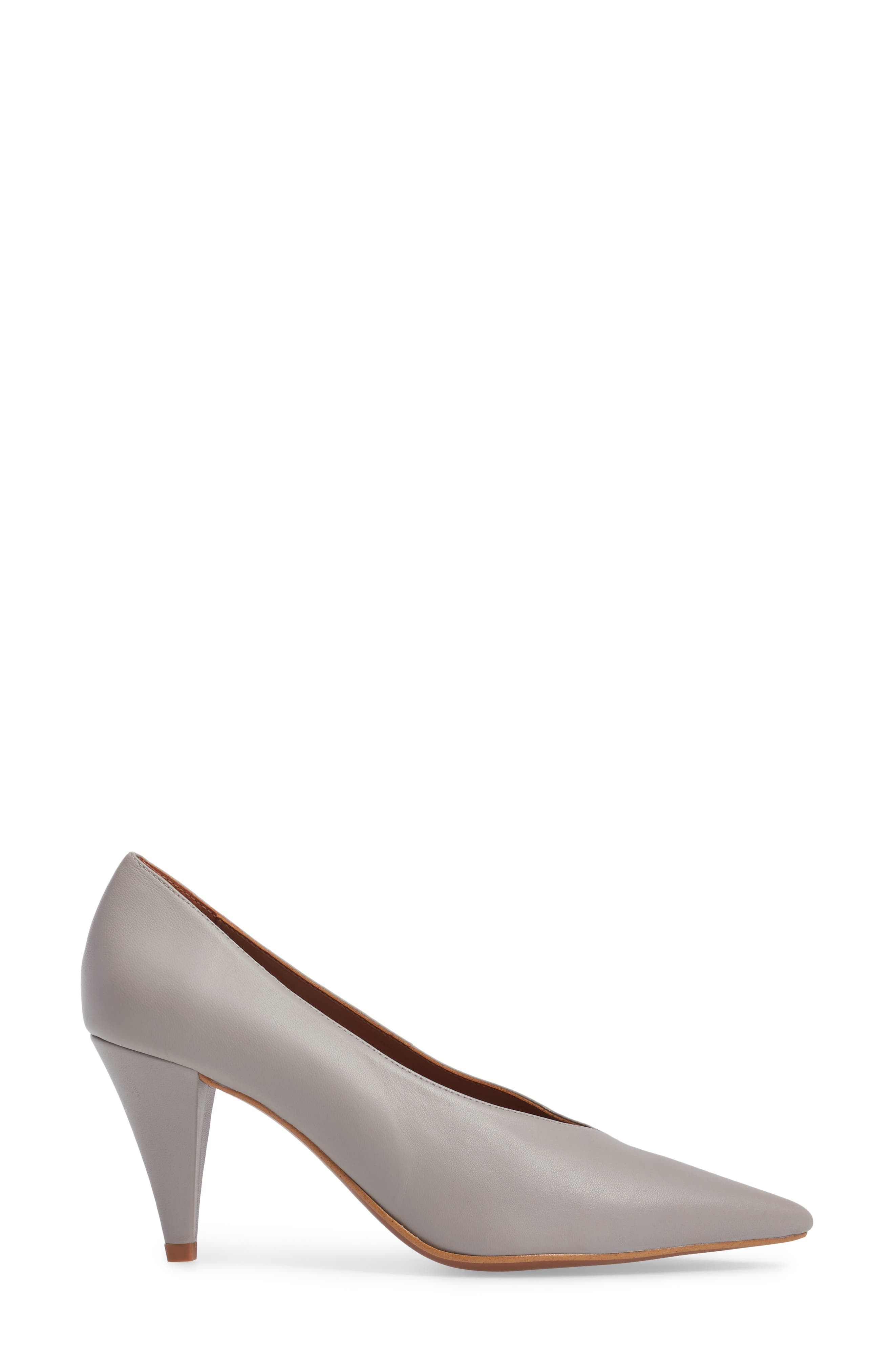 Journal Pointy Toe Pump,                             Alternate thumbnail 3, color,                             020