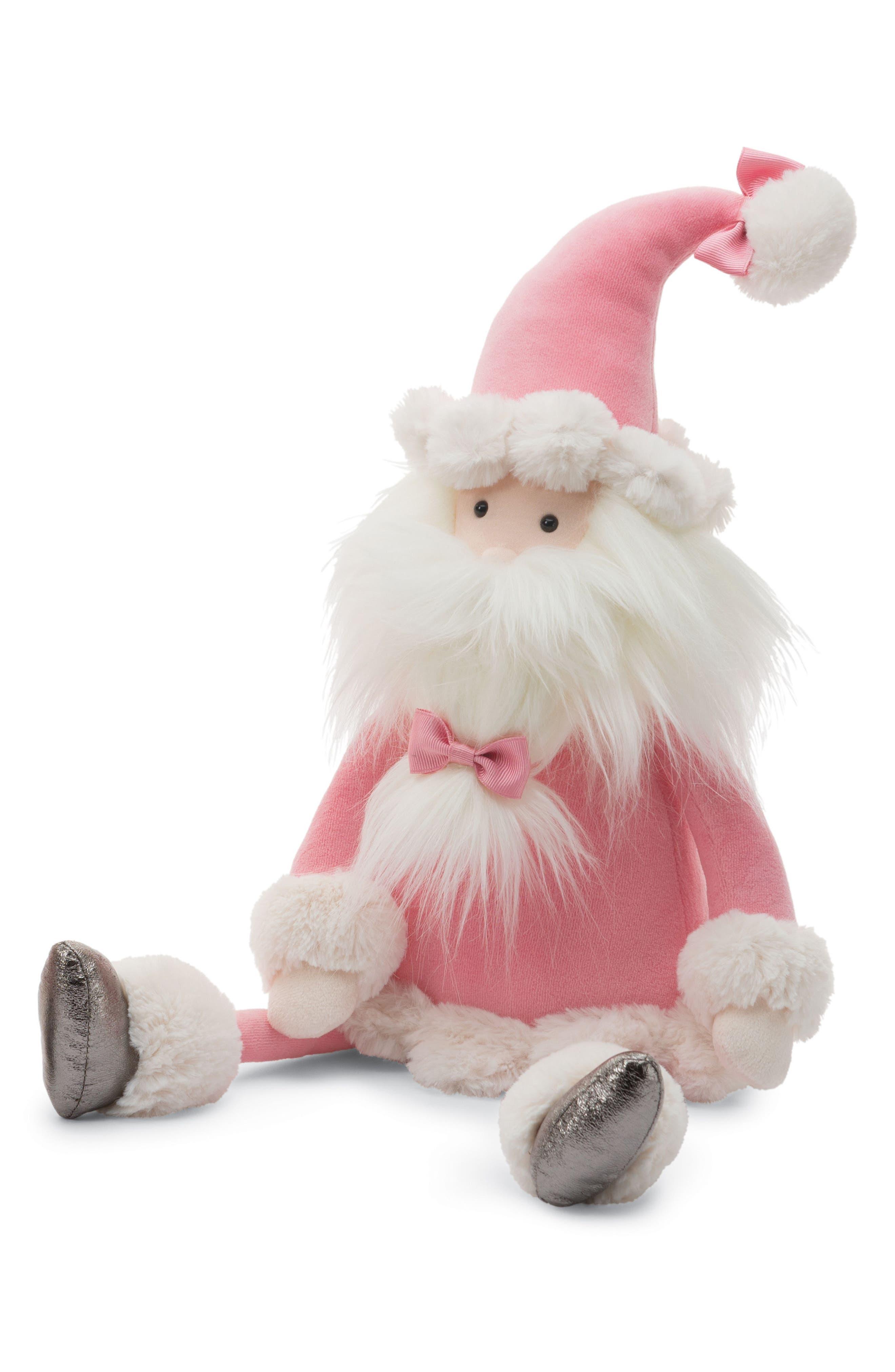 Medium Splendid Santa Stuffed Doll,                         Main,                         color, 680