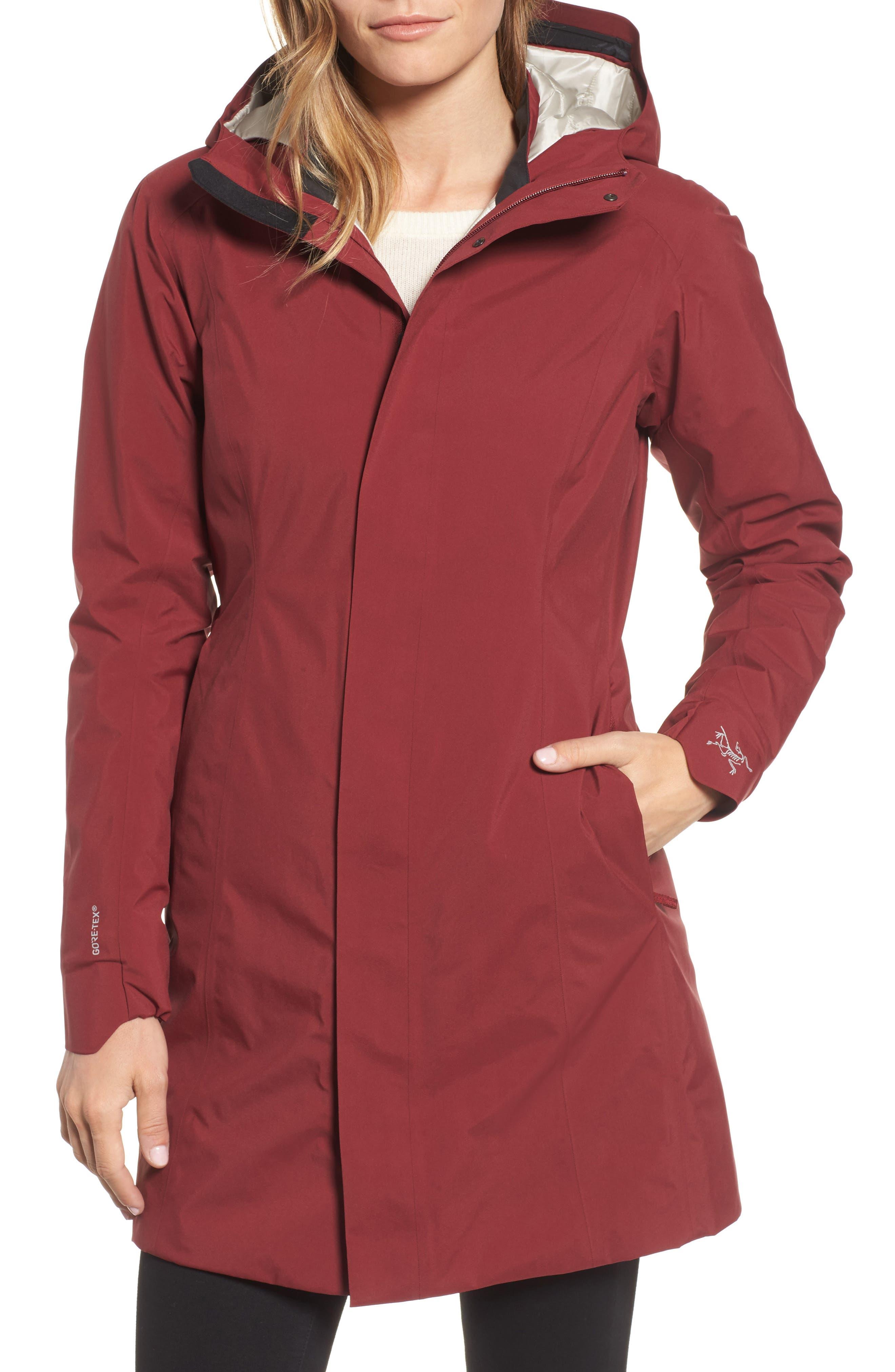 Durant Waterproof Hooded Jacket,                             Alternate thumbnail 4, color,                             600