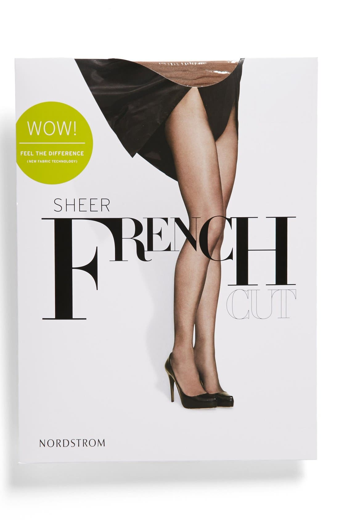 French Cut Sheer Pantyhose,                             Alternate thumbnail 10, color,
