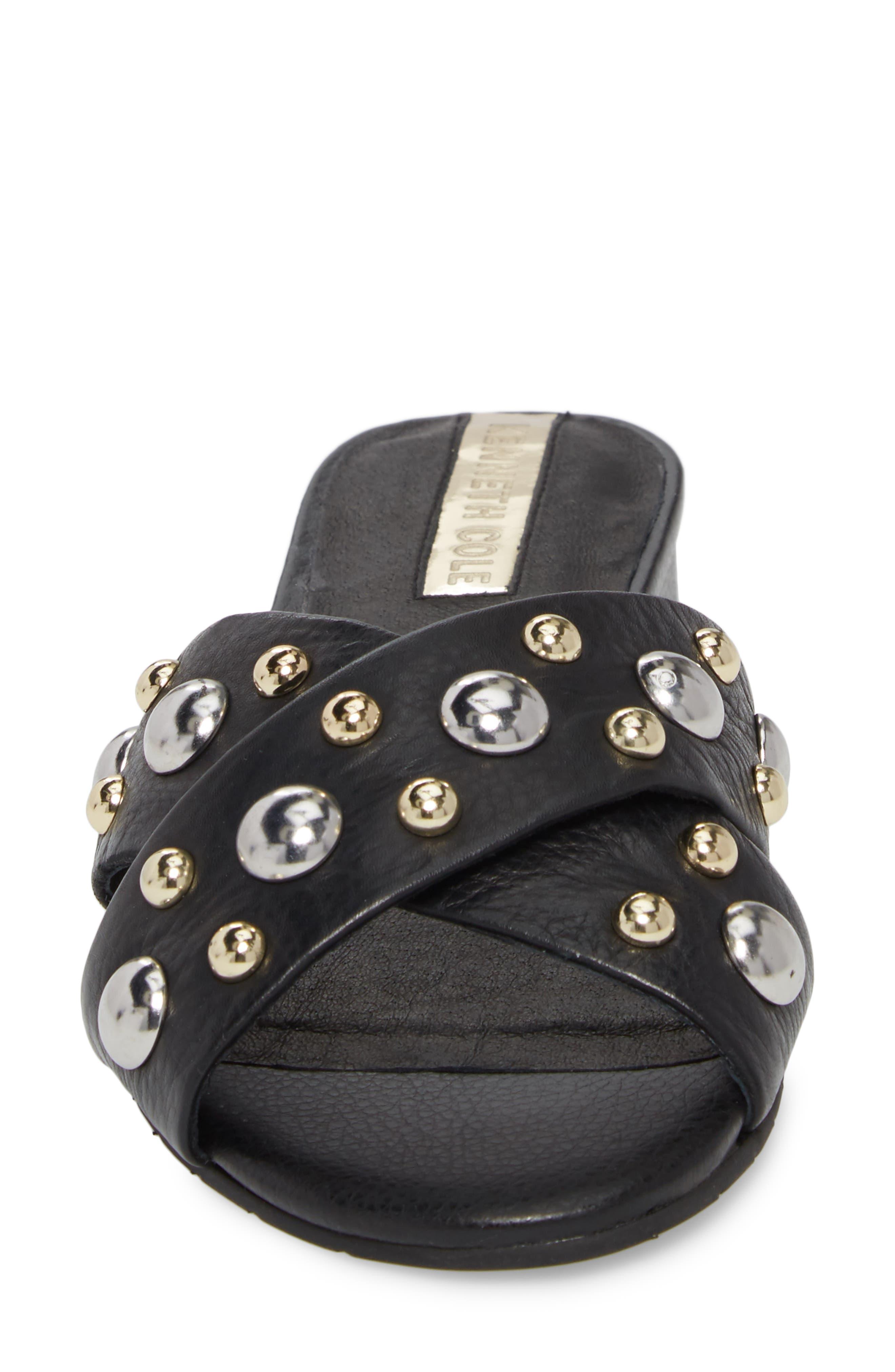 Verna Studded Slide Sandal,                             Alternate thumbnail 10, color,