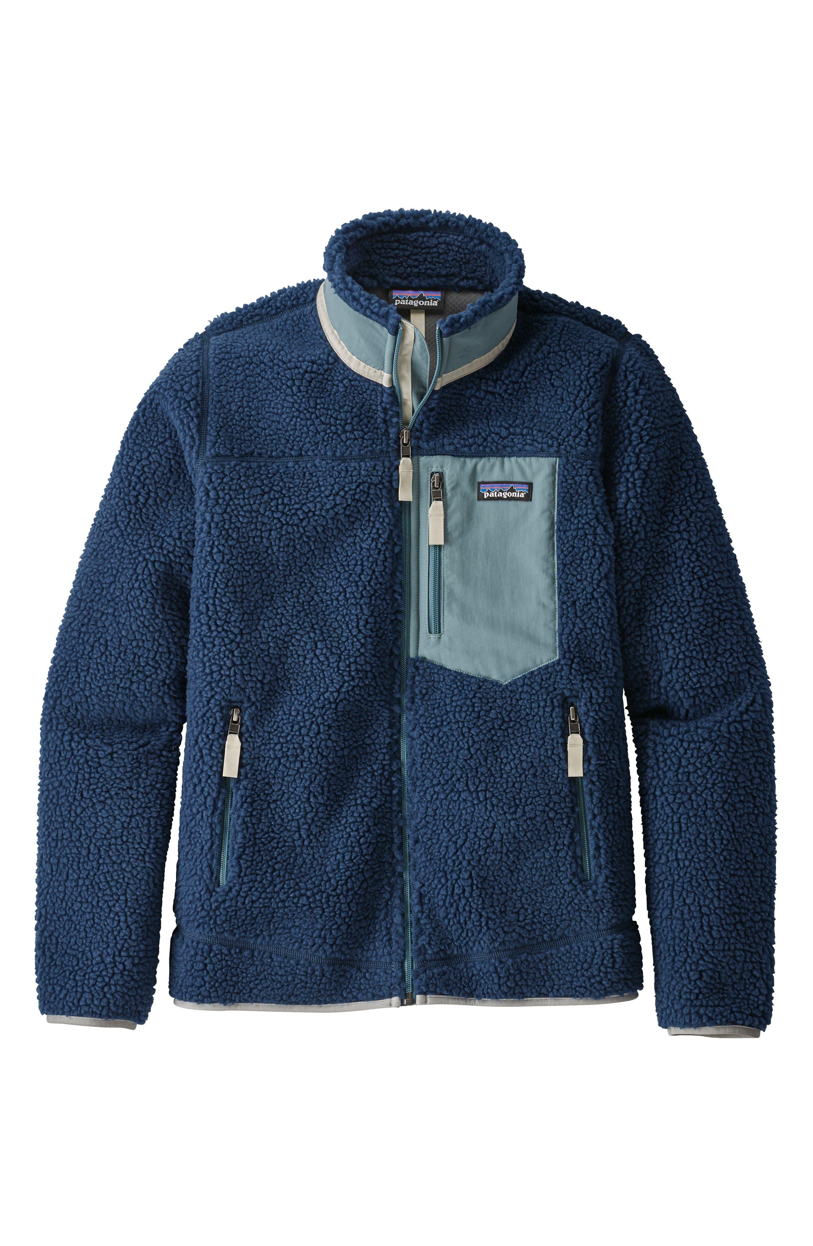 Classic Retro-X<sup>®</sup> Fleece Jacket,                             Main thumbnail 1, color,                             STONE BLUE