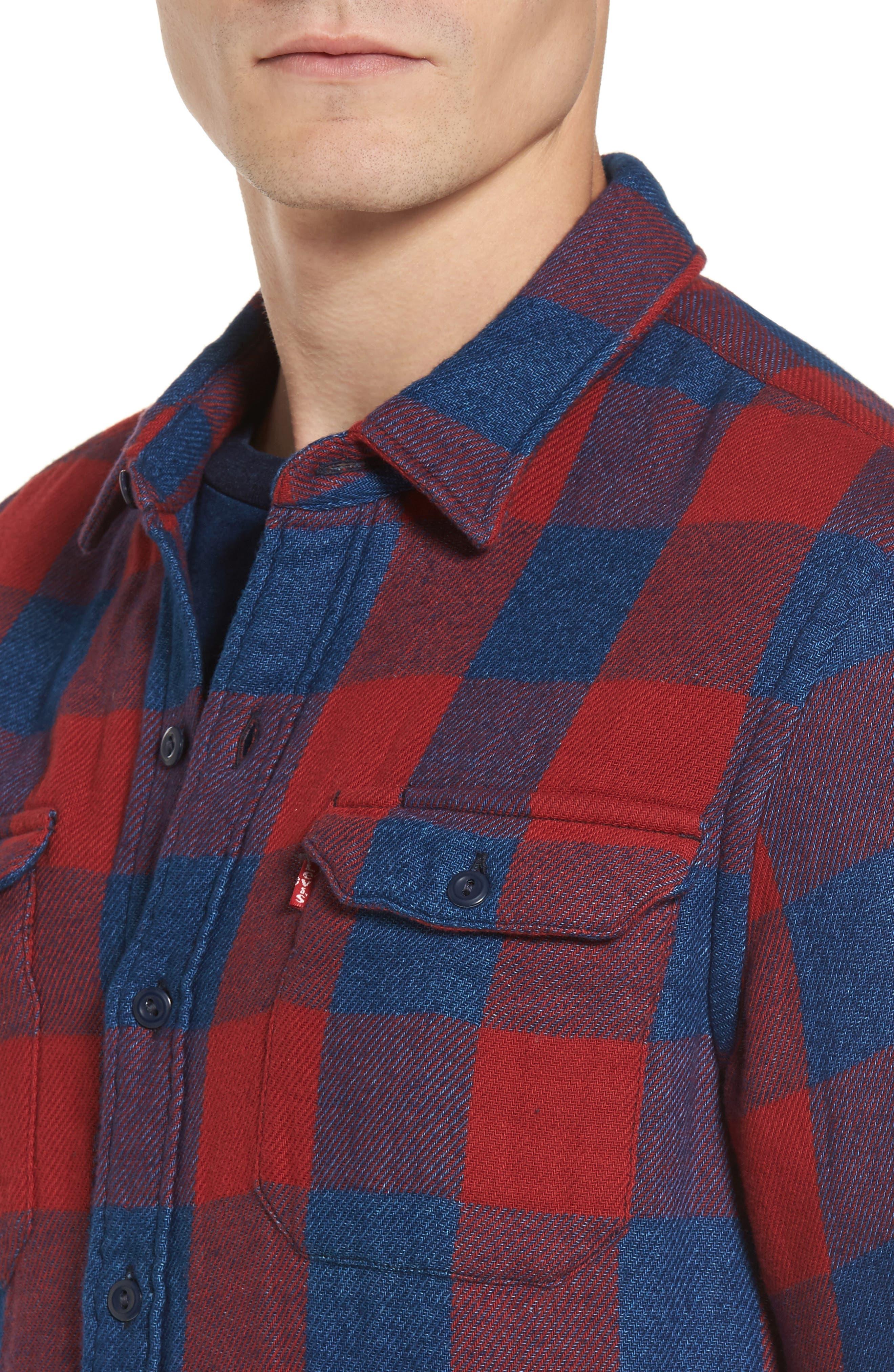 Jackson Worker Shirt,                             Alternate thumbnail 4, color,                             600