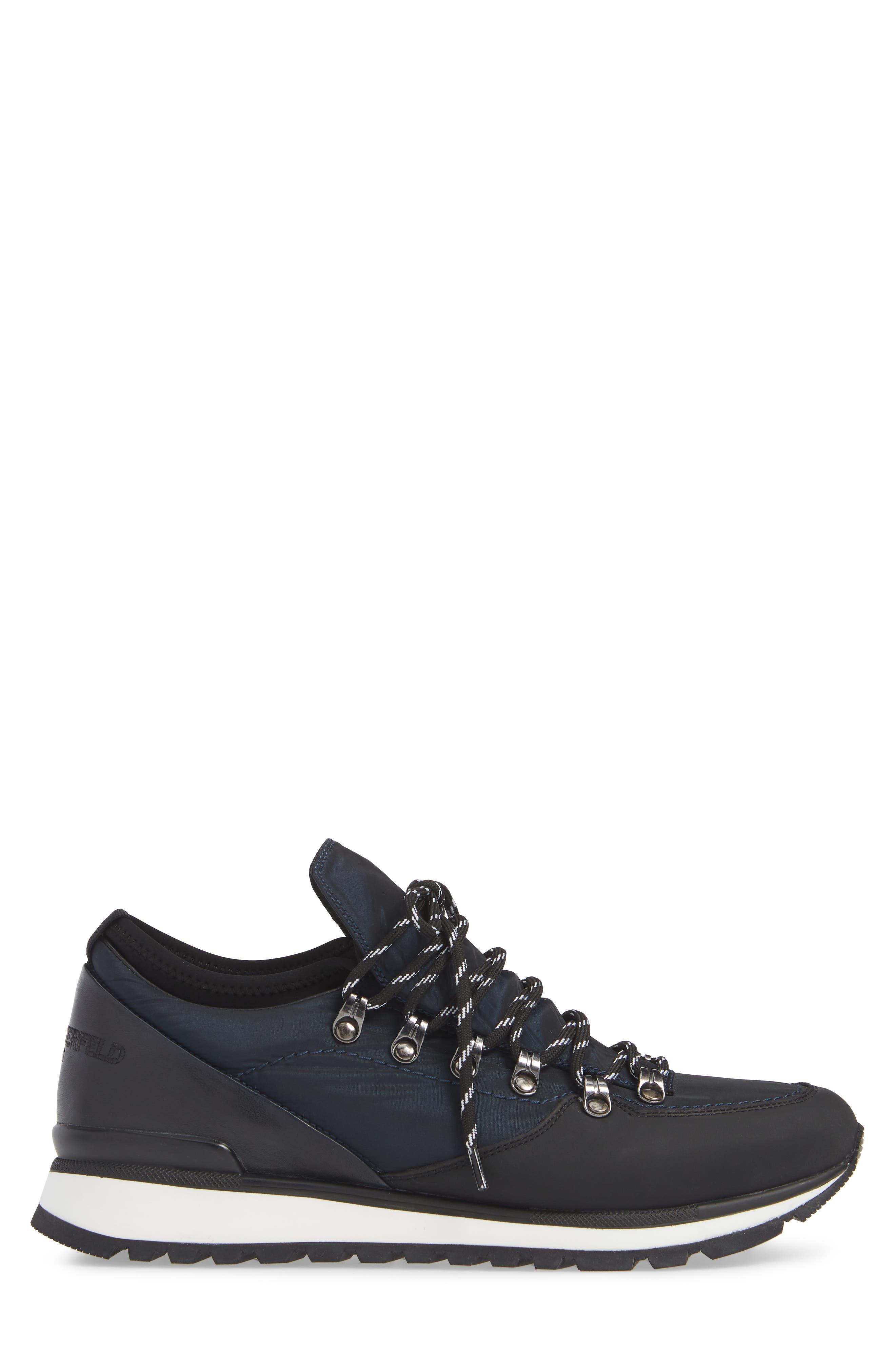 Low Top Hiker Sneaker,                             Alternate thumbnail 3, color,                             410
