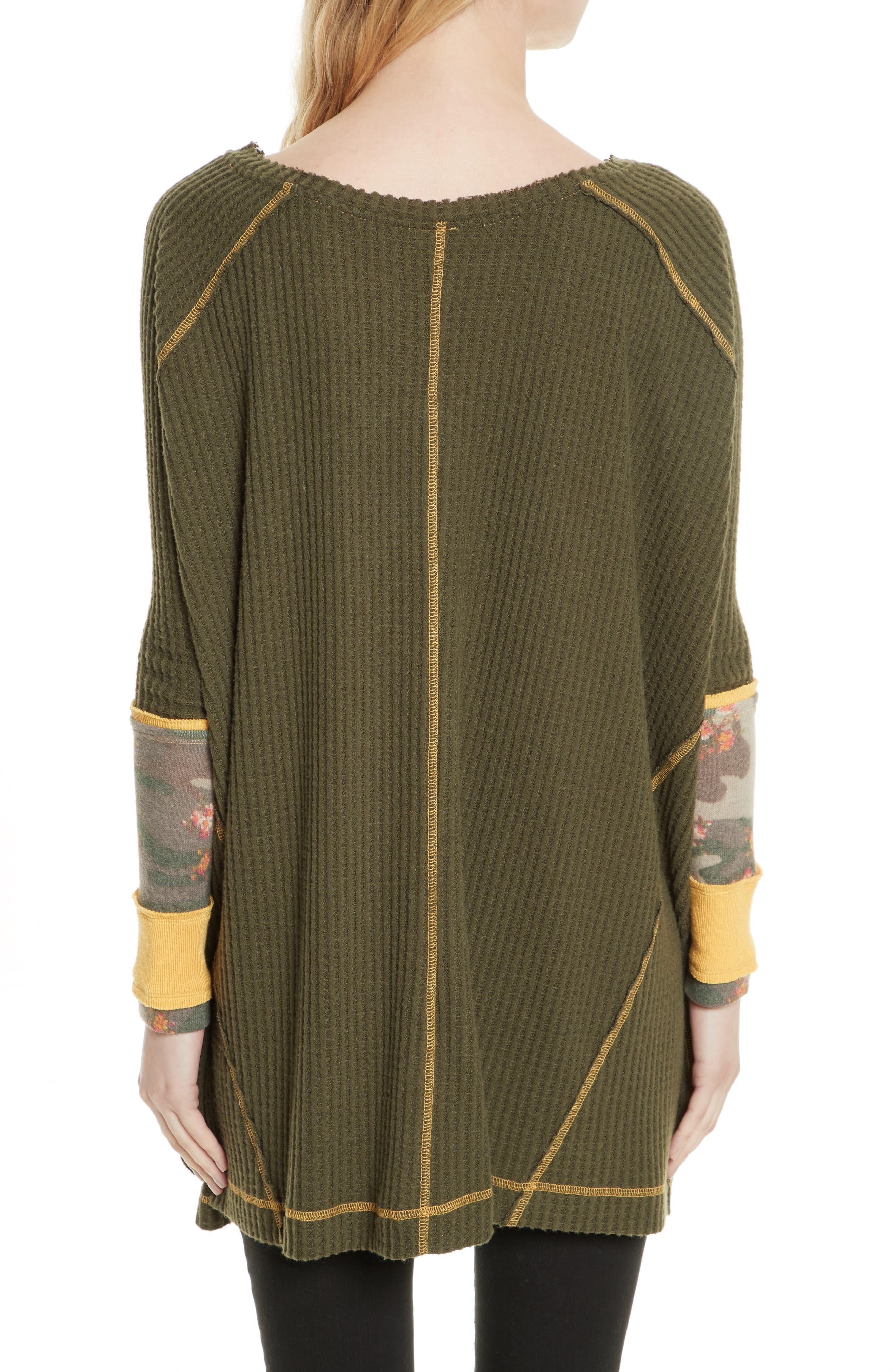 Lovin' Leopard Thermal Shirt,                             Alternate thumbnail 2, color,                             203