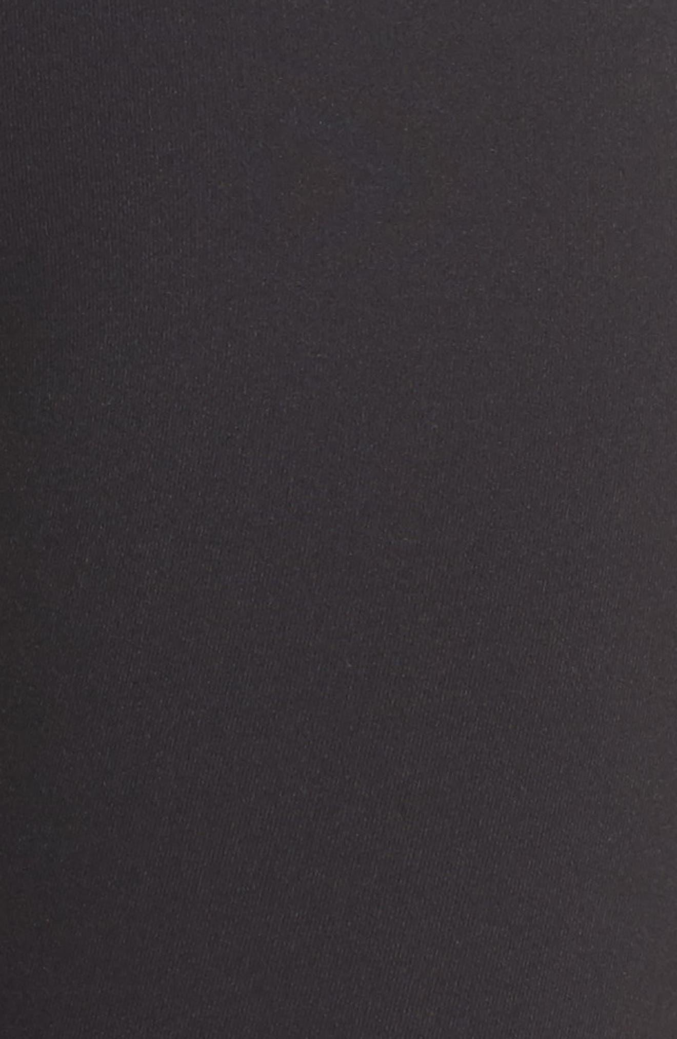 Hero Midi Leggings,                             Alternate thumbnail 6, color,                             001