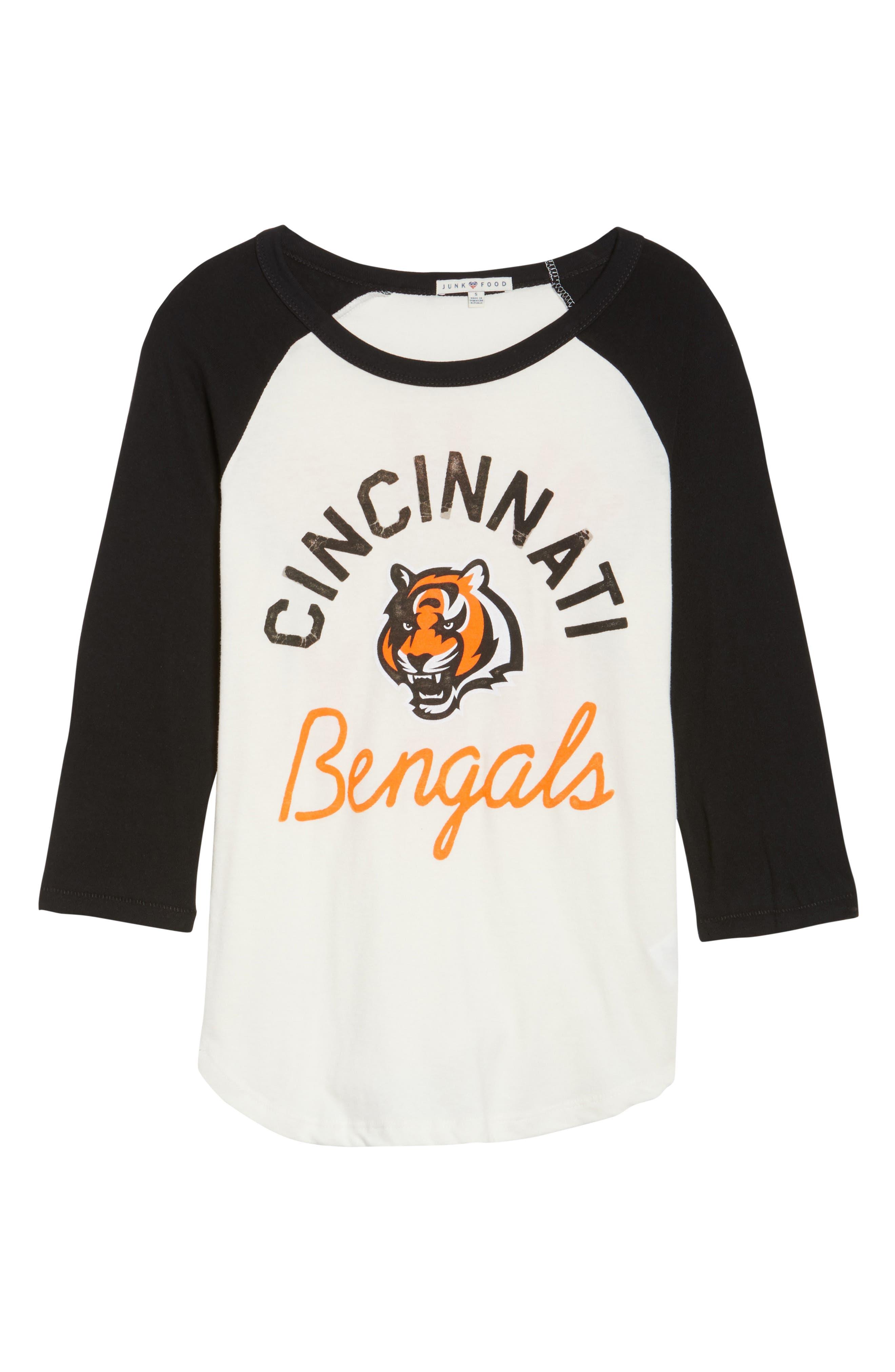 NFL Cincinnati Bengals Raglan Tee,                             Alternate thumbnail 6, color,                             189