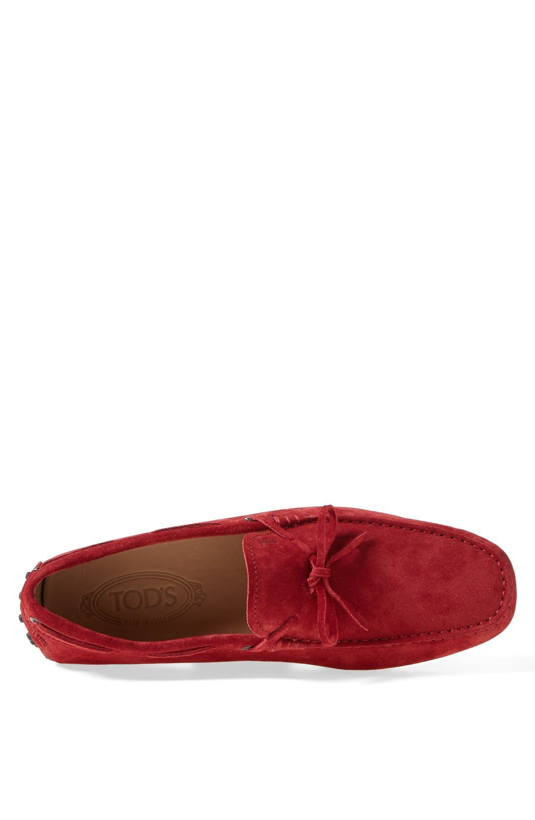 Gommini Tie Front Driving Moccasin,                             Alternate thumbnail 40, color,