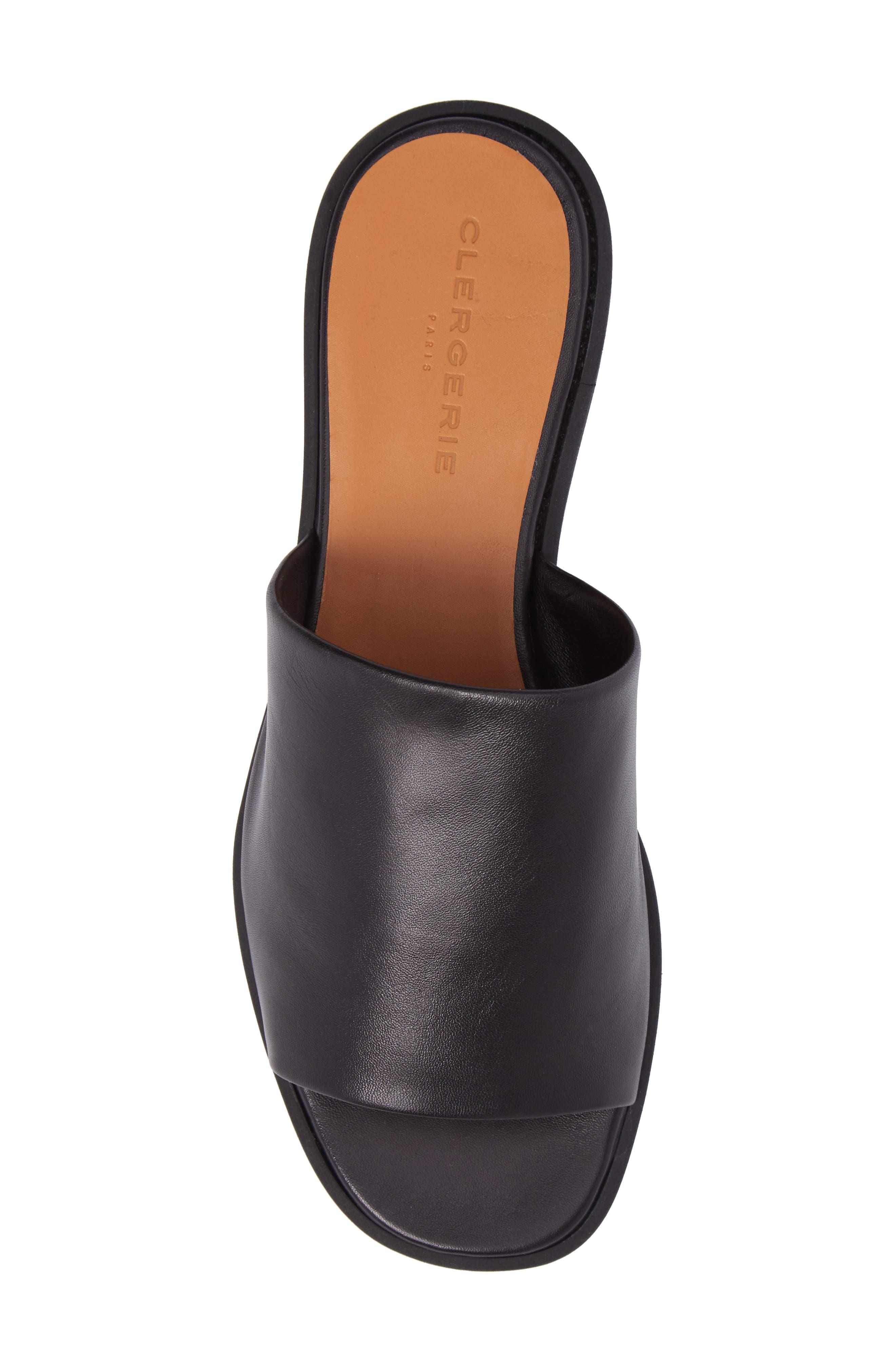 Quenor Platform Sandal,                             Alternate thumbnail 5, color,                             004