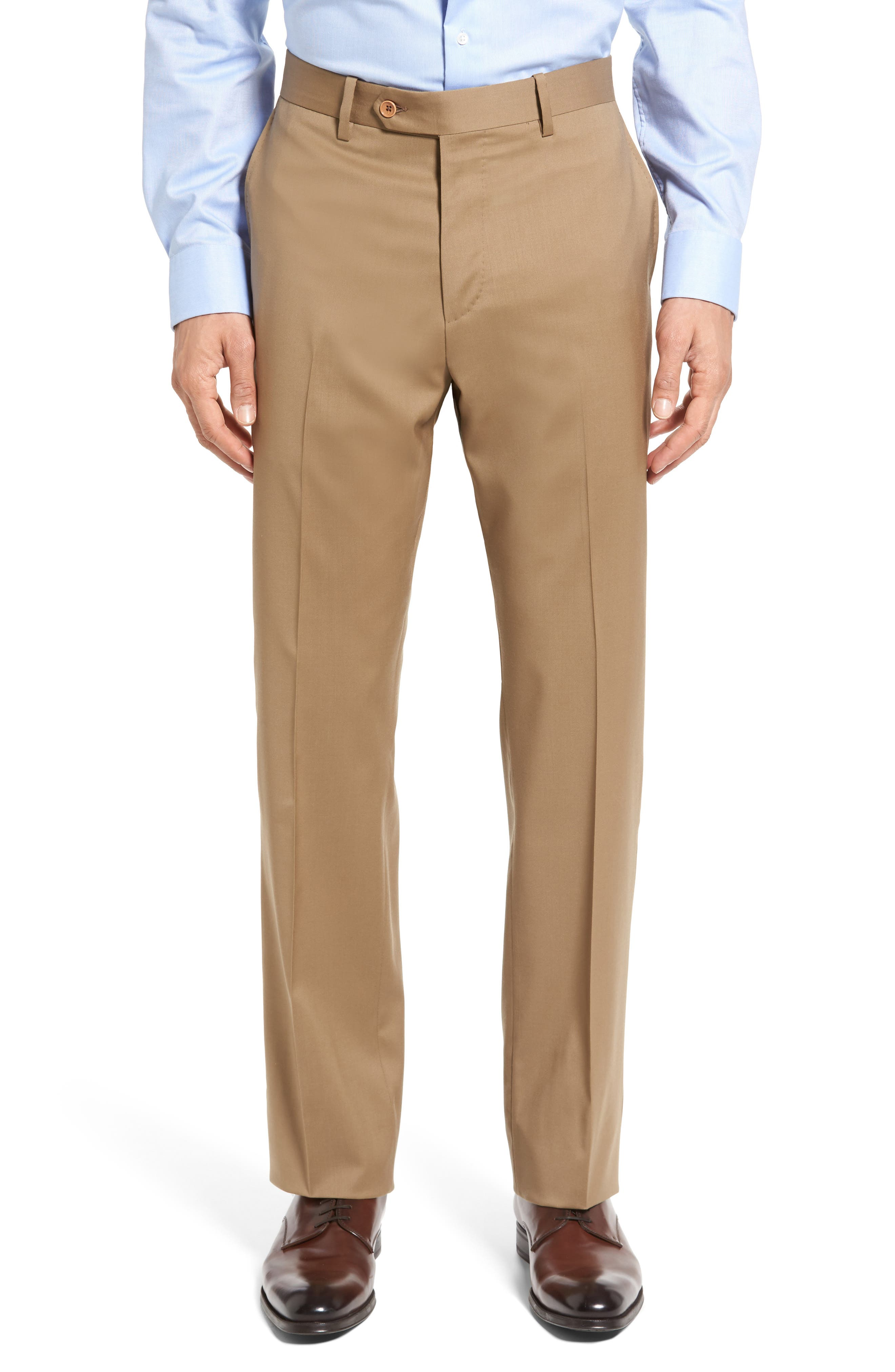 Classic Fit Solid Wool Suit,                             Alternate thumbnail 34, color,