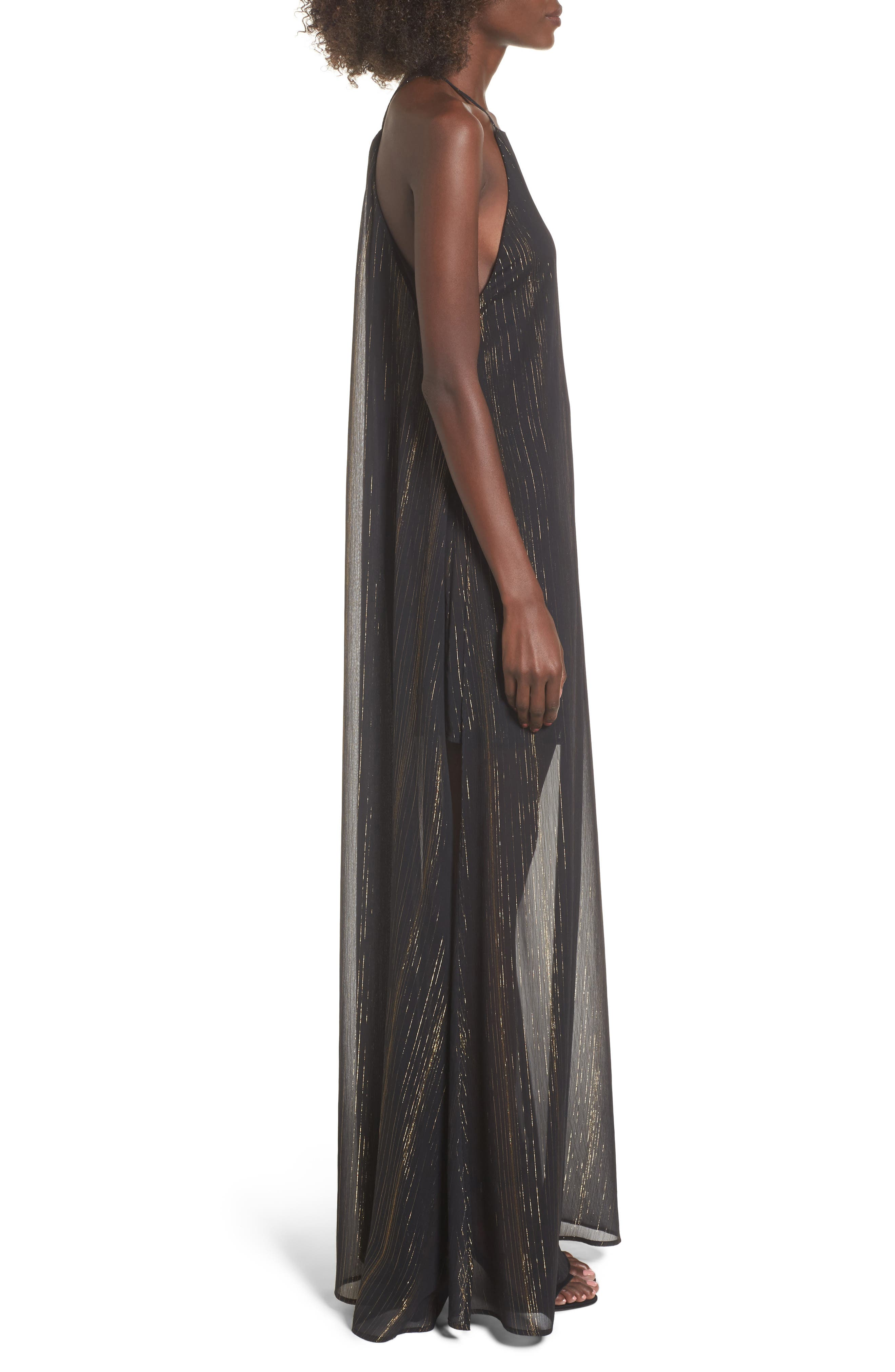 Bronte Maxi Dress,                             Alternate thumbnail 7, color,