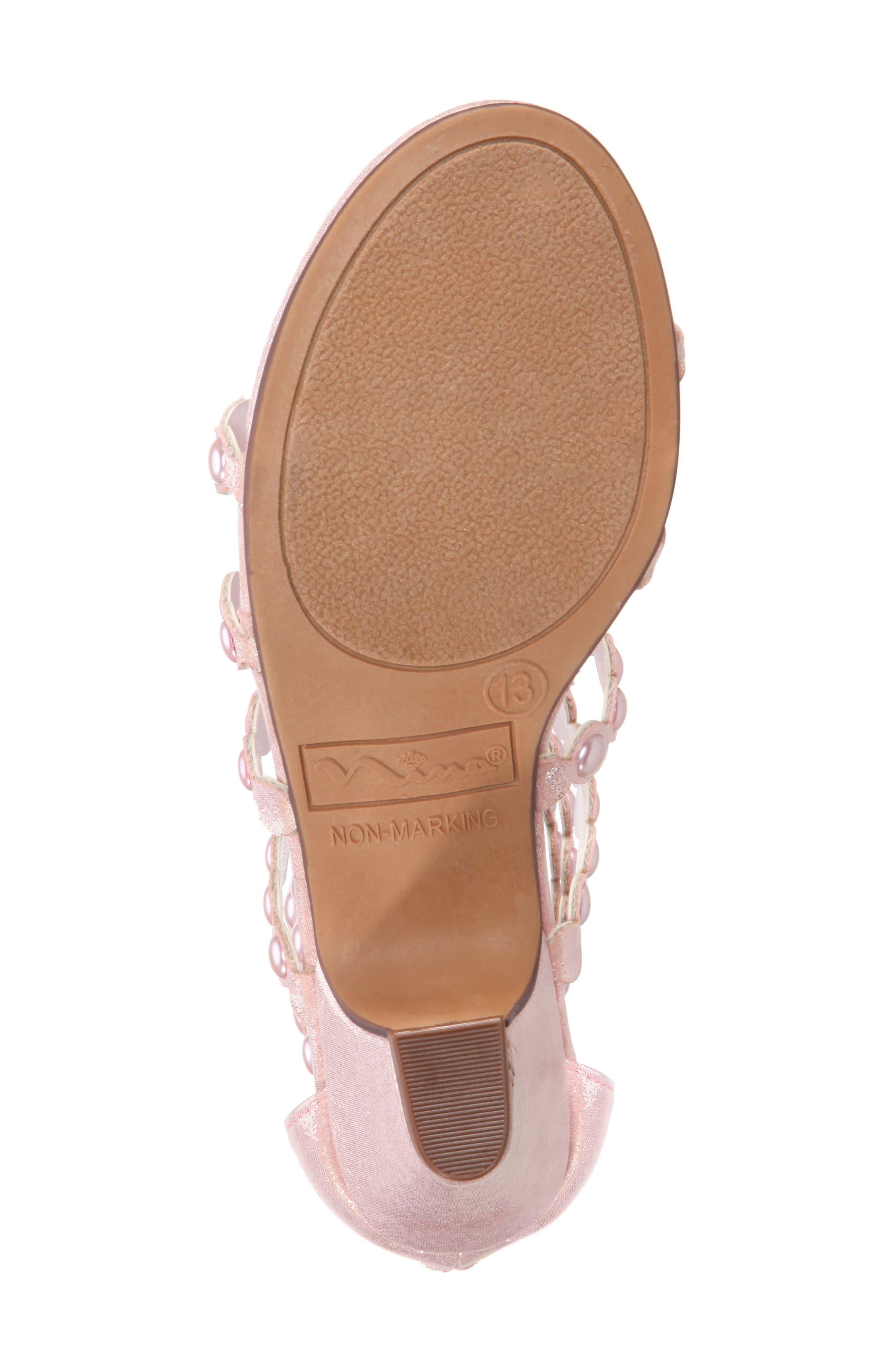 Princess-P Shimmer Sandal,                             Alternate thumbnail 16, color,