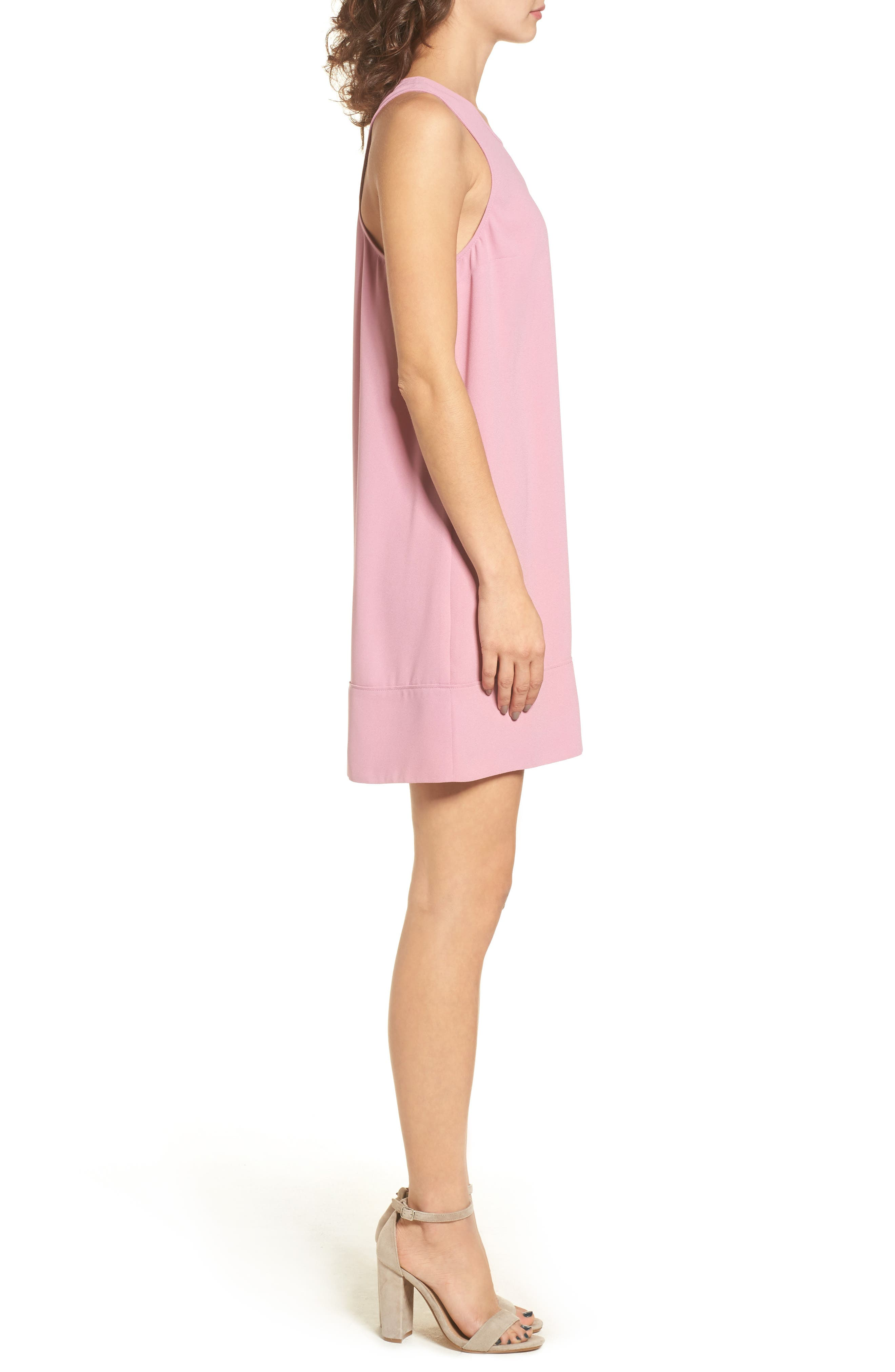 Racerback Shift Dress,                             Alternate thumbnail 97, color,