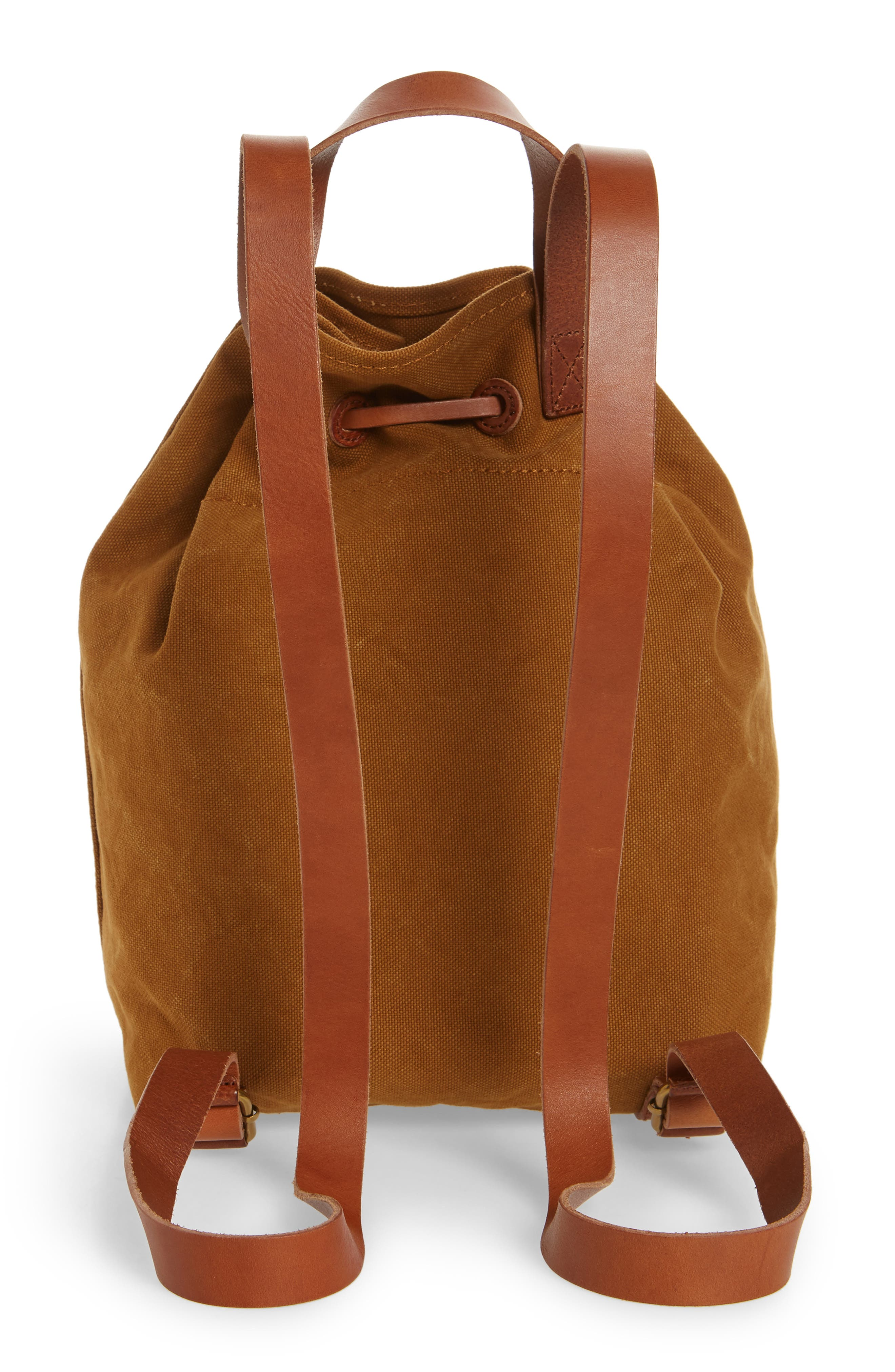 Somerset Canvas Backpack,                             Alternate thumbnail 11, color,
