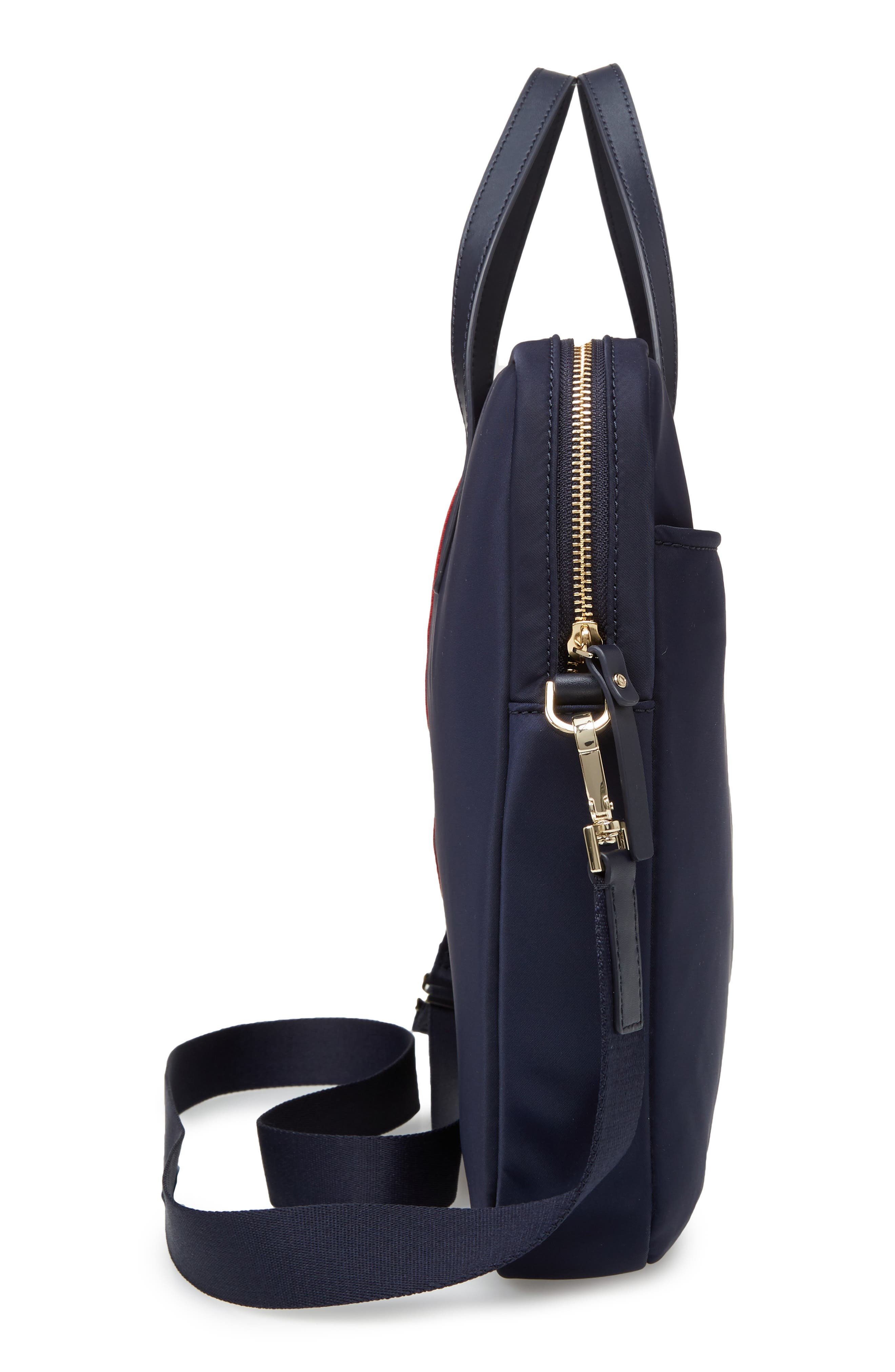 varsity stripe 15-inch laptop bag,                             Alternate thumbnail 5, color,                             493