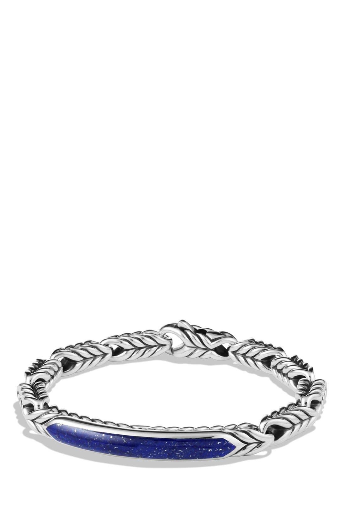 'Chevron' ID Bracelet,                             Main thumbnail 2, color,