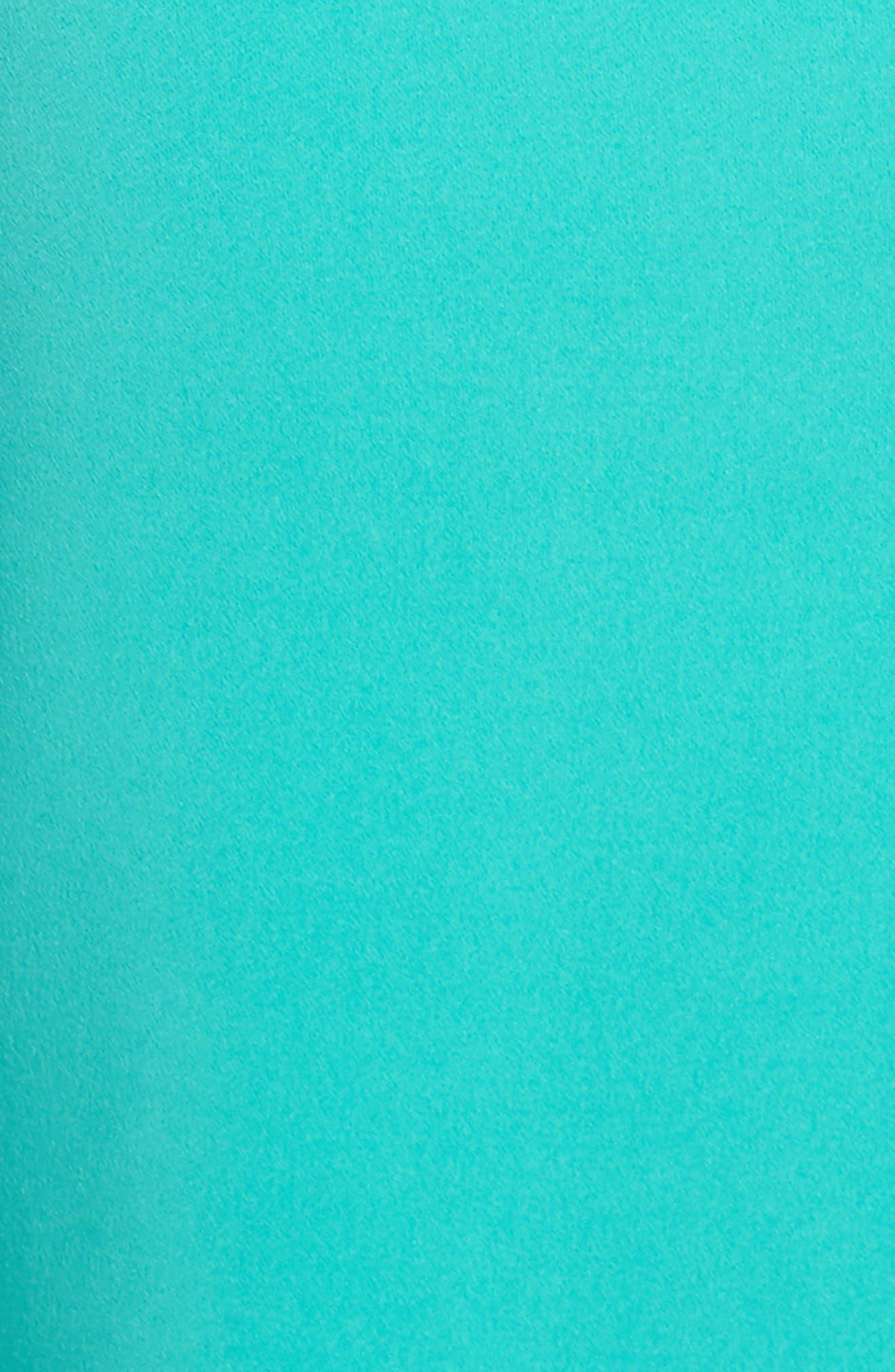 Cameron One-Shoulder Cutout Gown,                             Alternate thumbnail 6, color,                             384