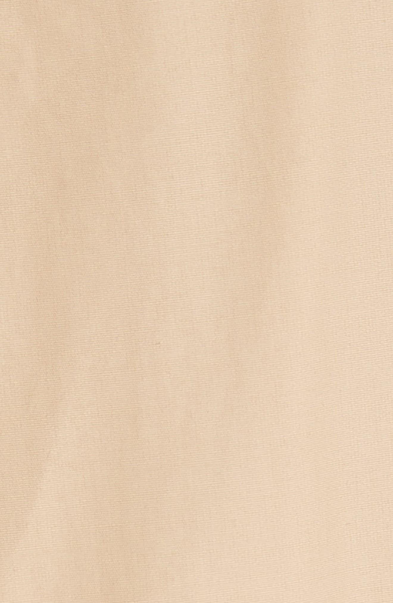 Round Sleeve Coat with Polka Dot Back Panel,                             Alternate thumbnail 6, color,