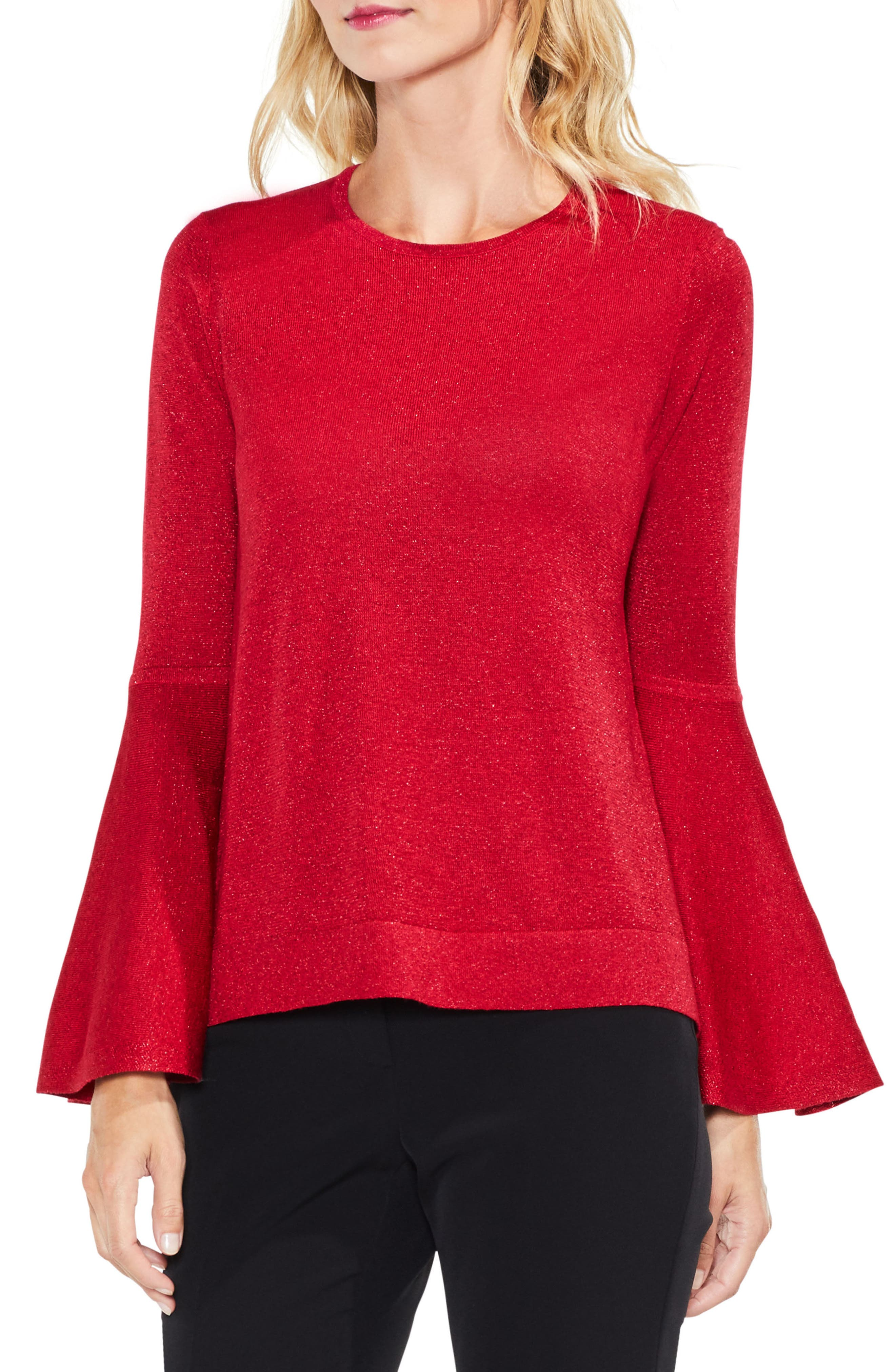 Bell Sleeve Sweater,                             Main thumbnail 5, color,